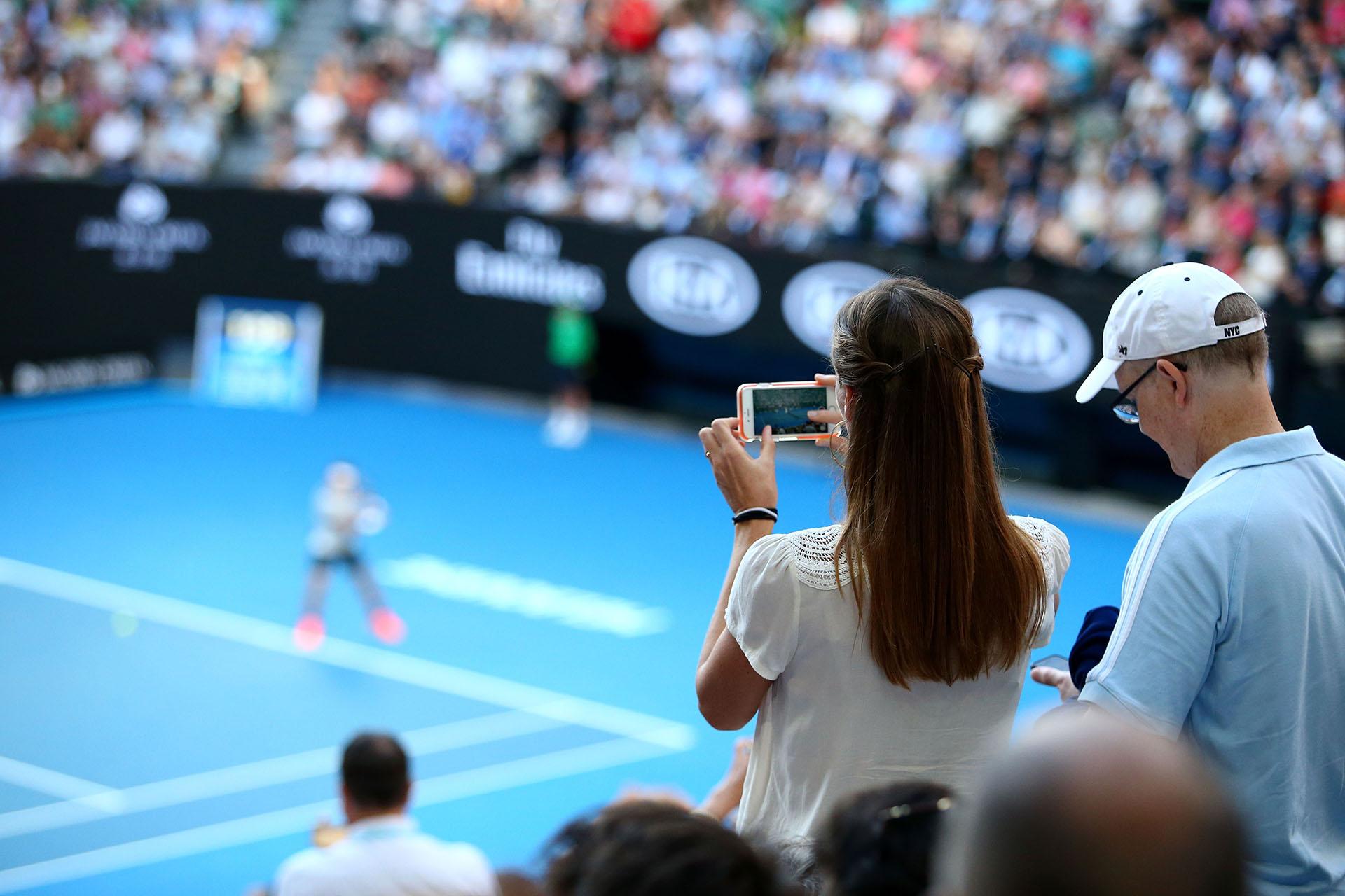 Roger Federer se preparó en la Copa Hopman antes de iniciar el máximo torneo. Antes, estuvo seis meses de baja por lesión