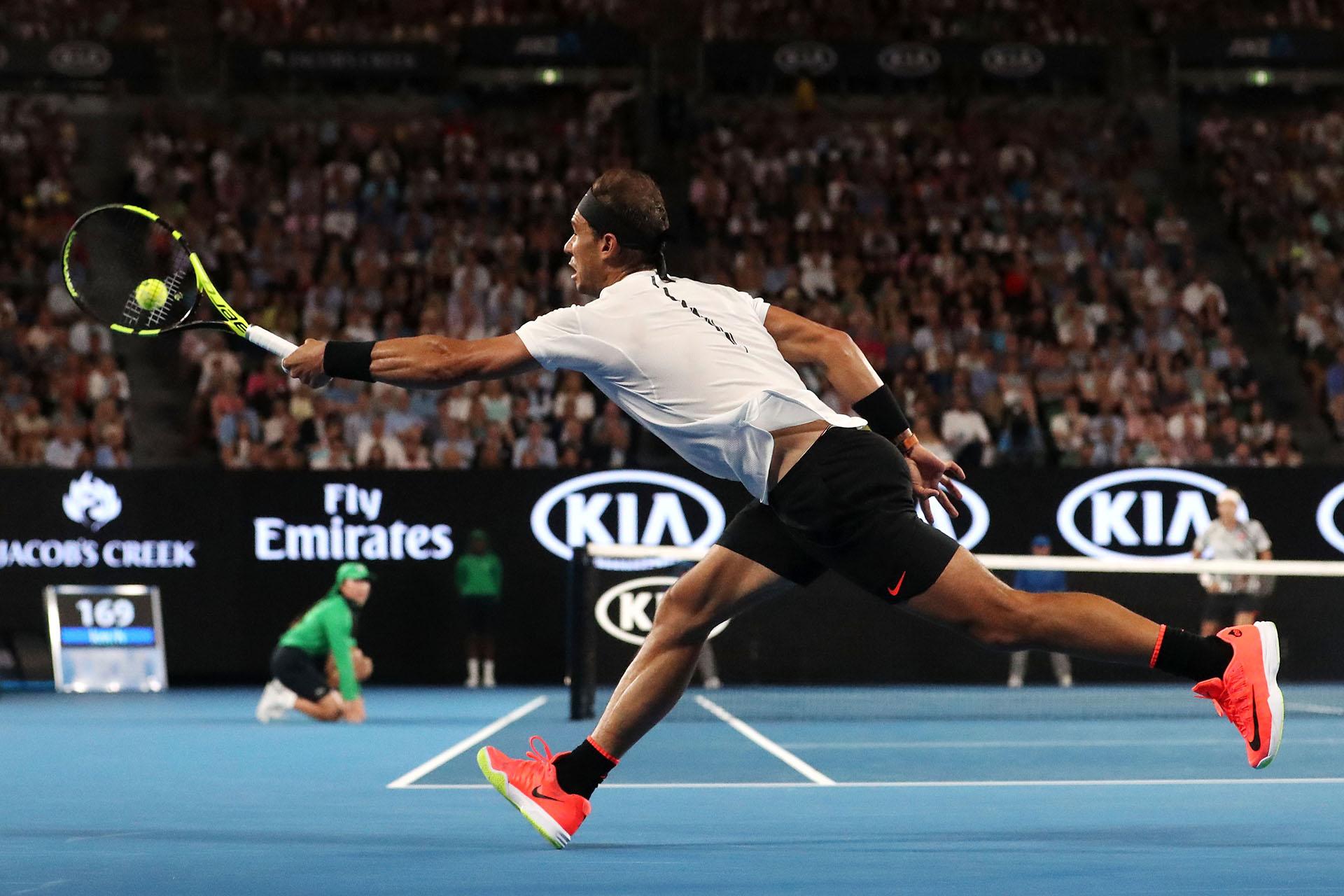 Rafael Nadal no pudo conseguir el título pero le planteó un gran duelo al campeón