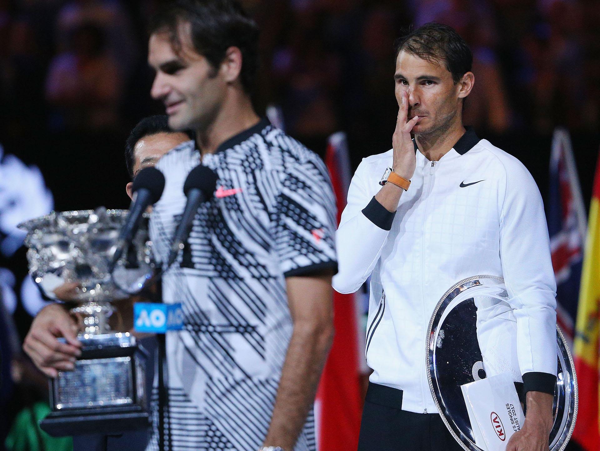 Federer se convierte en el primer jugador en ganar cinco títulos de tres diferentes Grand Slams