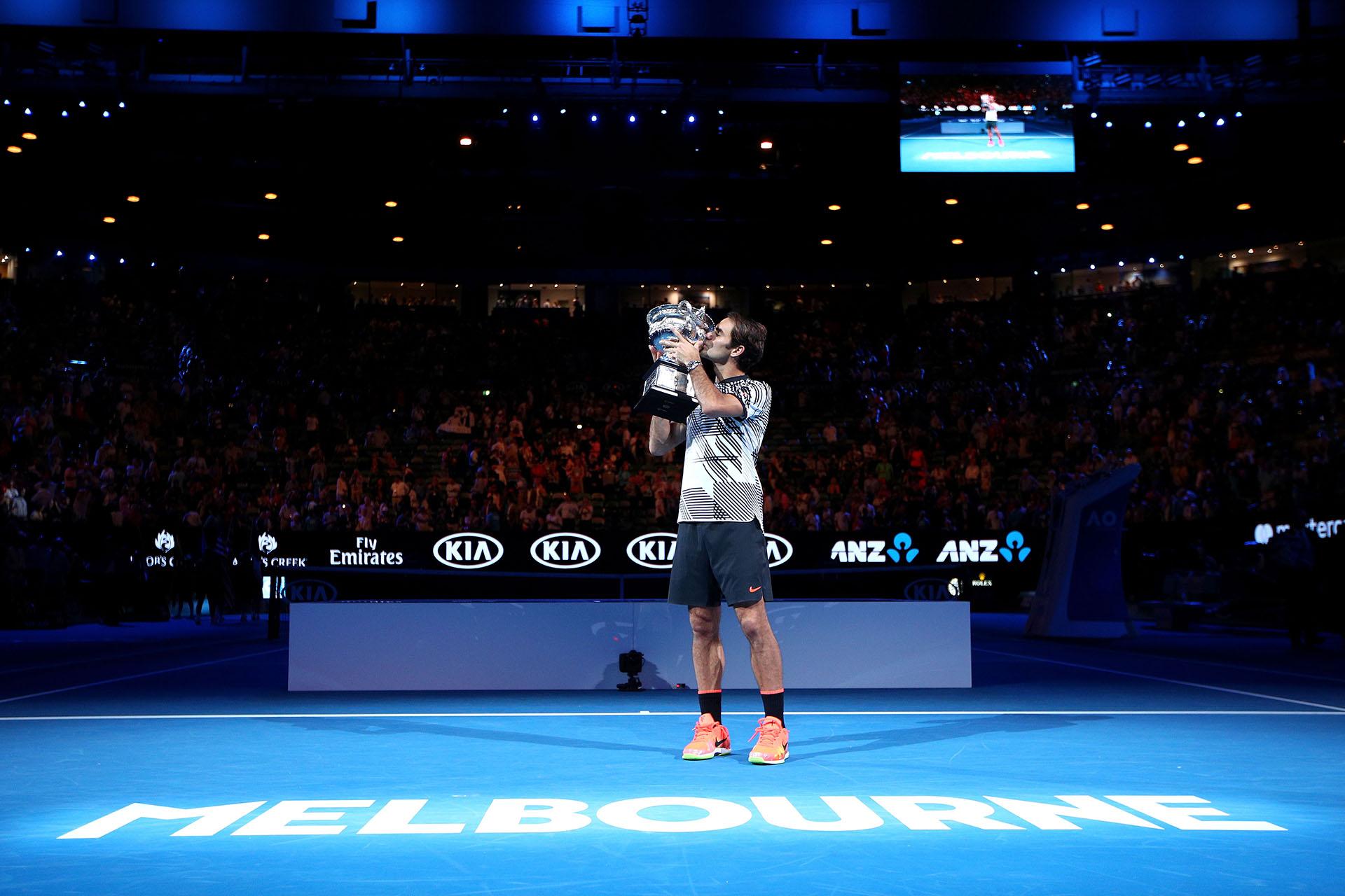 Se cumpliran catorce años del primer Grand Slam que obtuvo el suizo en Wimbledon