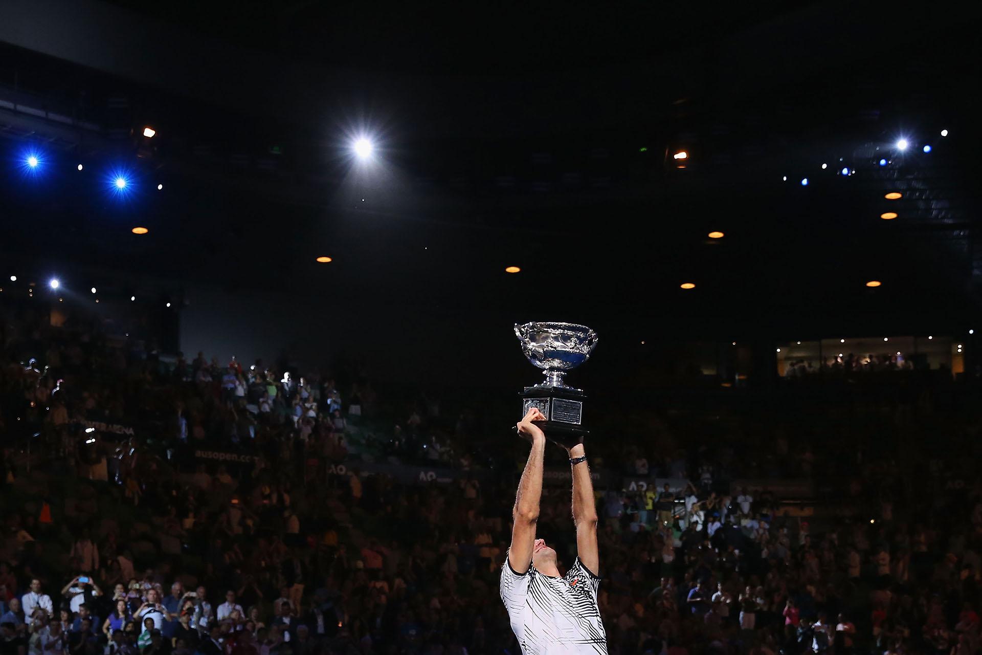 Roger Federer continúa siendo el jugador que más titulos de Grand Slam ganó. Con 18 supera por cuatro a su inmediato perseguidor, Rafael Nadal