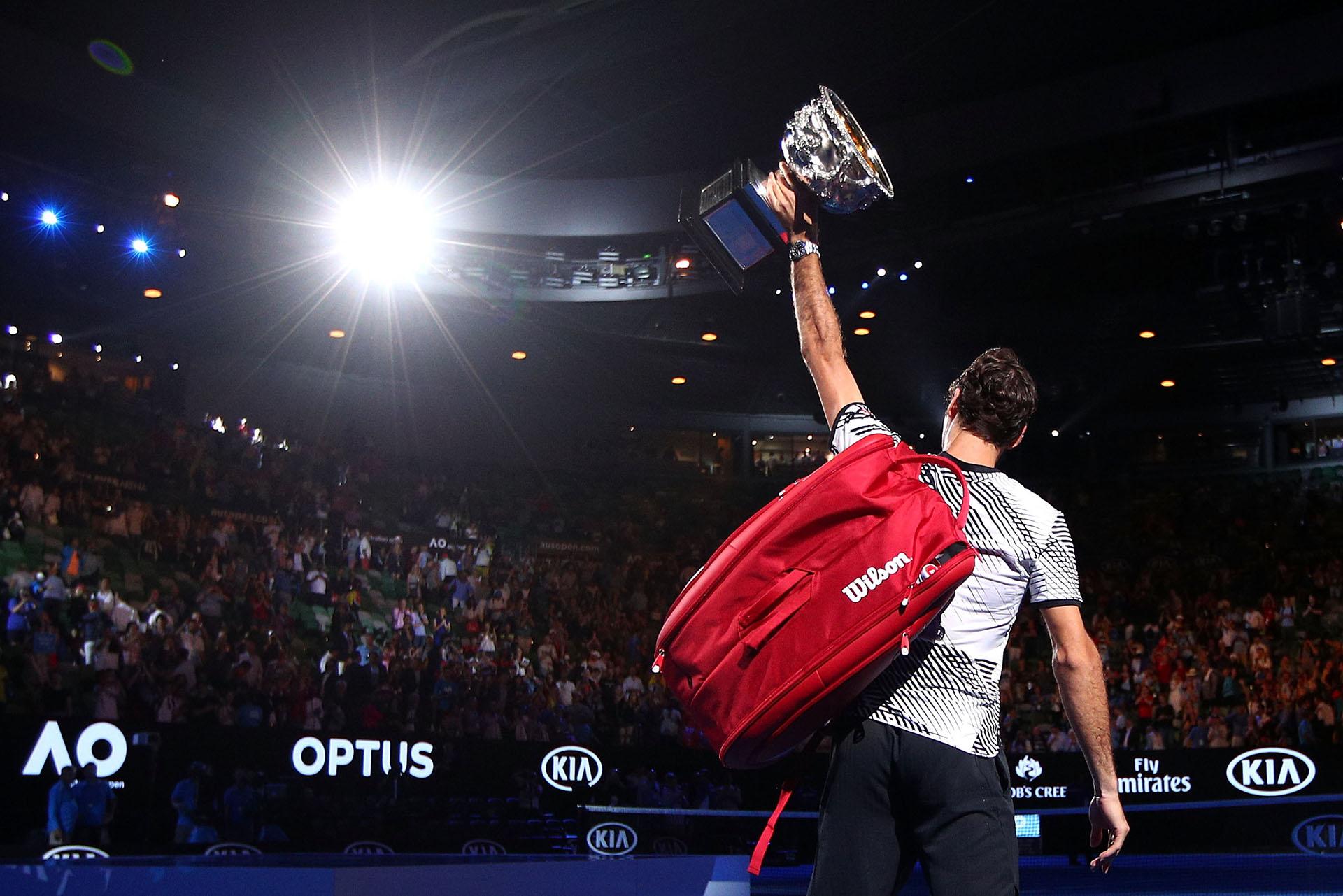 El último Abierto de Australia en el que participó fue hace 6 años, en donde venció a Andy Murray por 6-3, 6-4, 7-6(11)