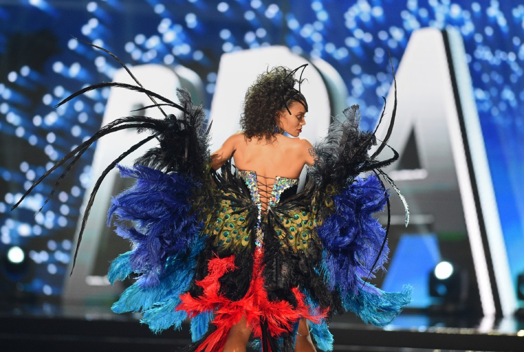 Raissa Santana, de Brasil, impactó por su belleza