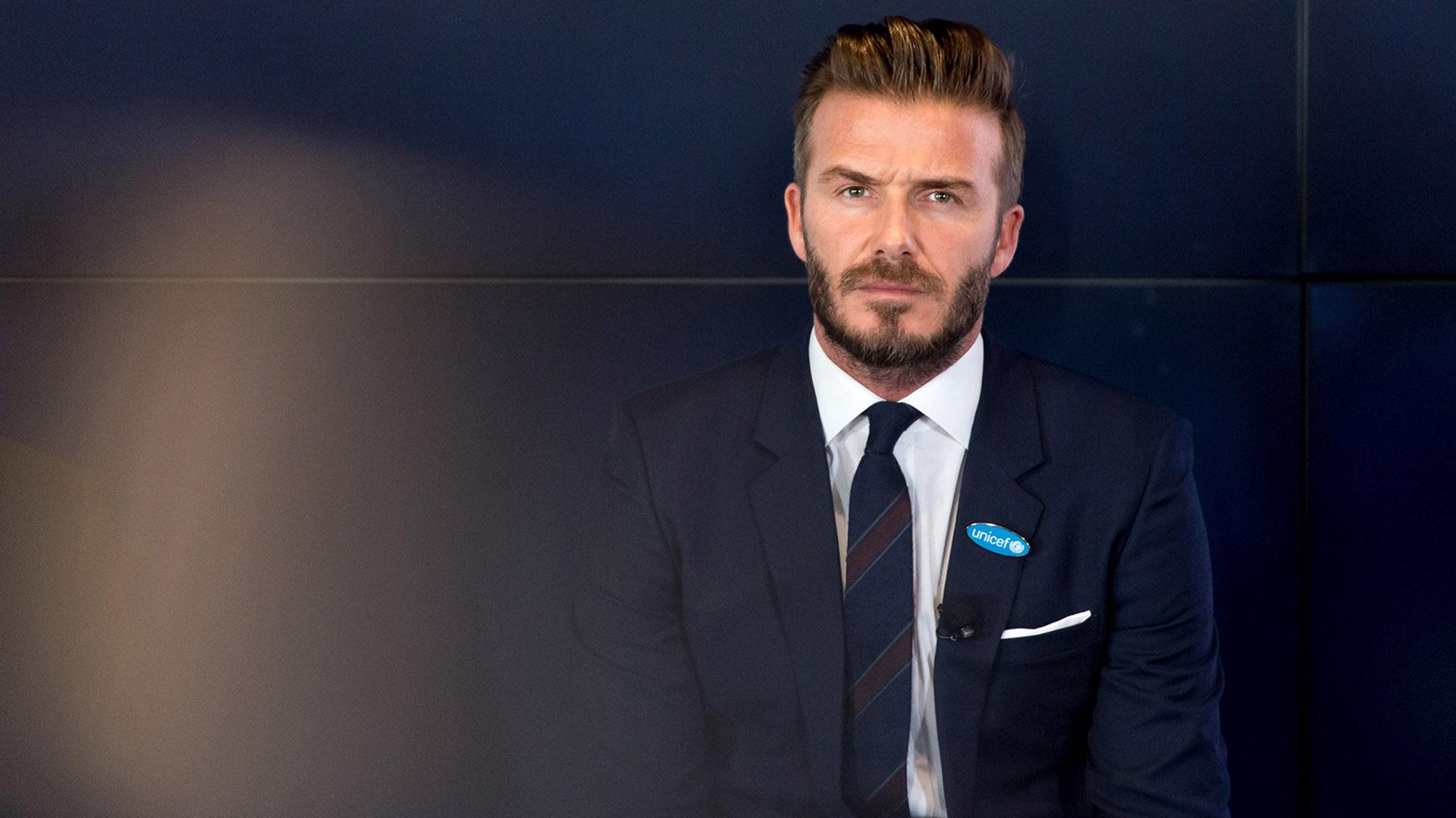 David Beckham culminó su carrera en el Paris Saint Germain en 2013 (Getty)