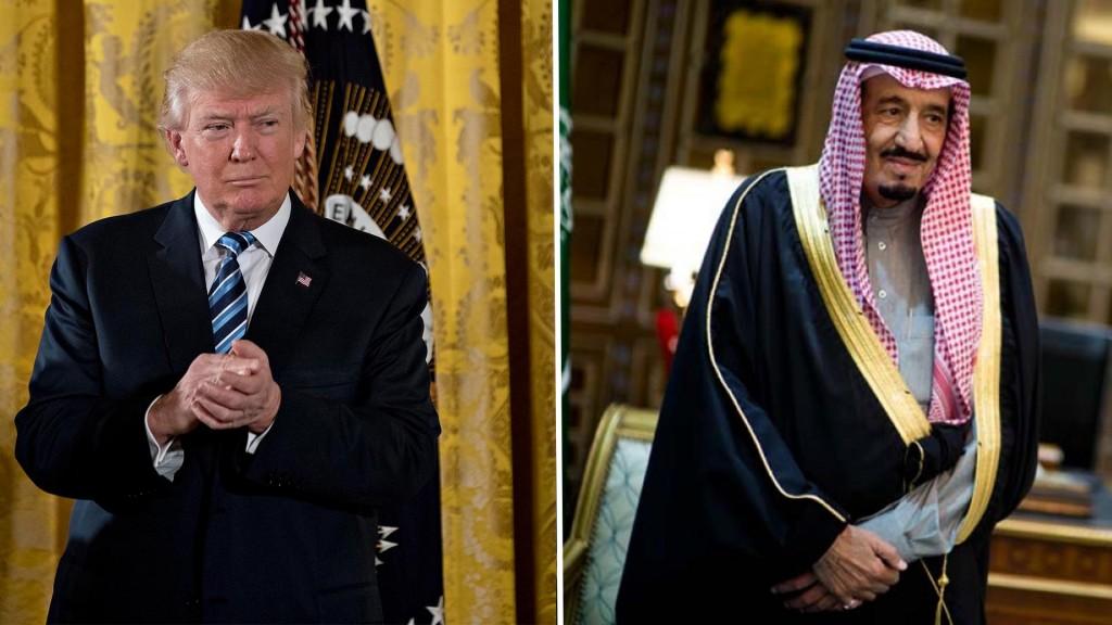 Donald Trump y el rey Salman mantuvieron una conversación telefónica
