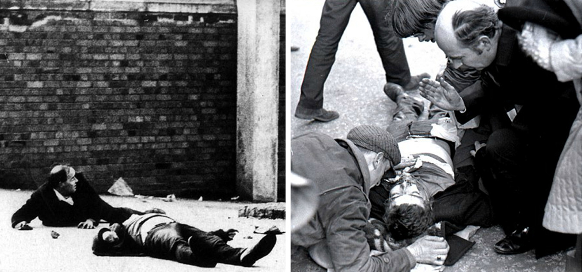 En total murieron 13 activistas católicos, y uno más murió meses después por sus heridas