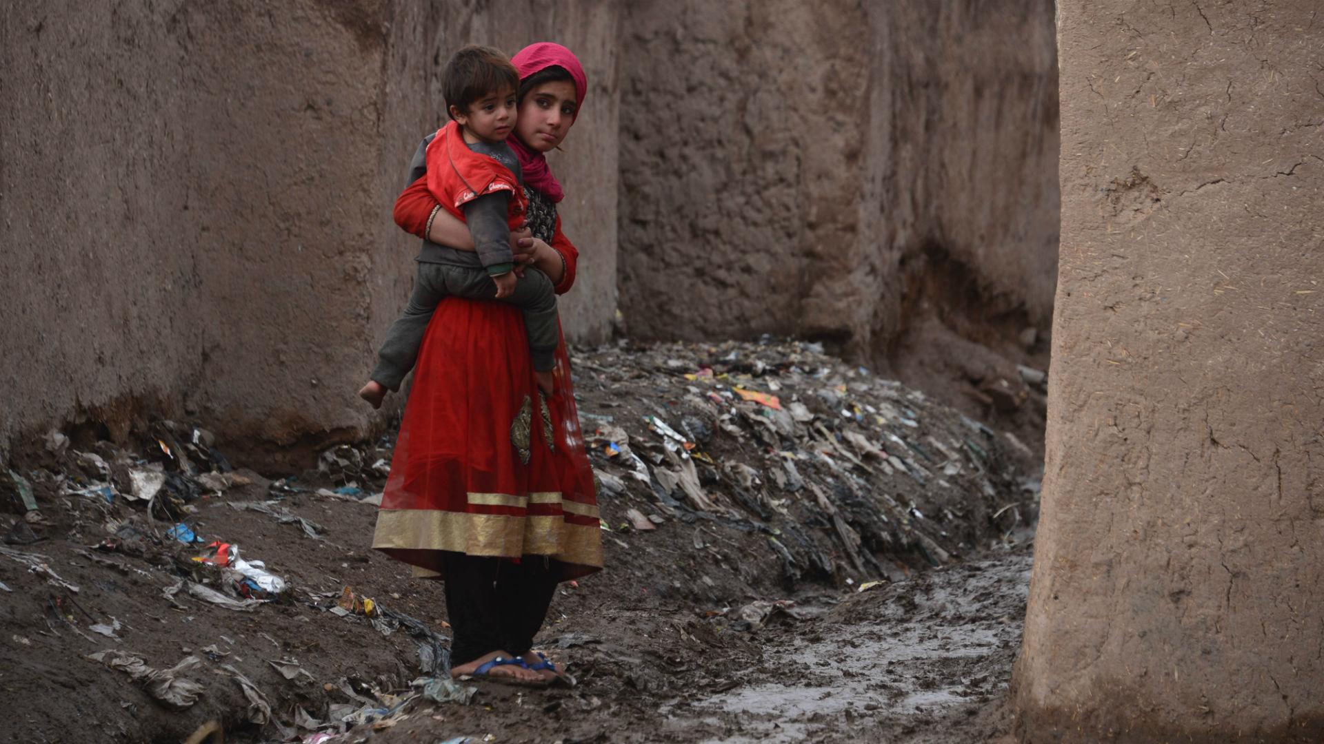 La población civil no tiene tregua desde hace al menos 40 años (AFP)