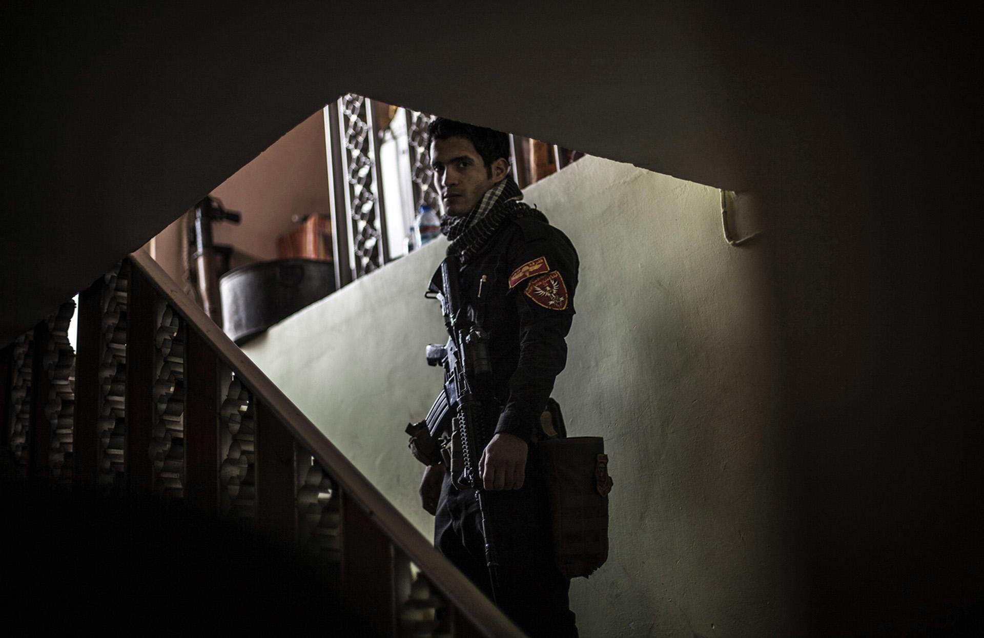 Un miembro de las Fuerzas Especiales (AP)