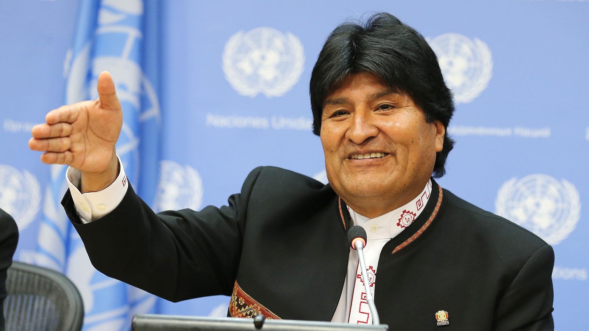 Evo Morales, presidente de Bolivia (Getty)