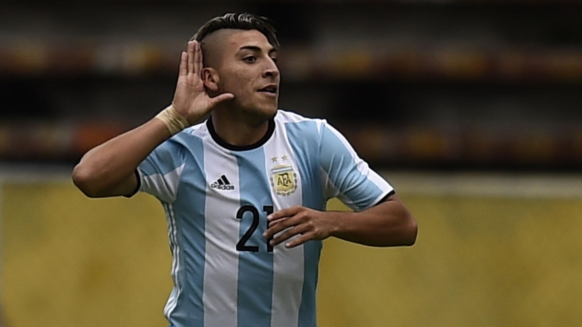 El delantero de Boca fue figura de la selección sub 20 (AFP)
