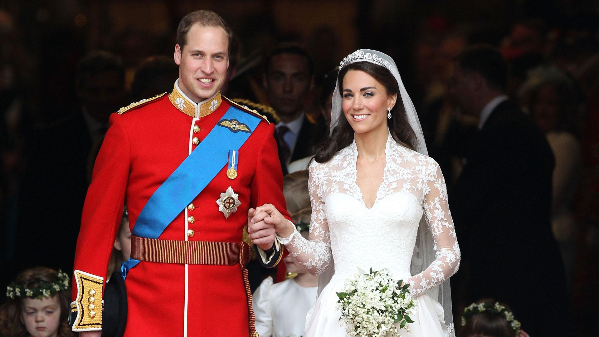 Kate Middleton se casó con el príncipe Wiliam el 29 de abril de 2011 en la Abadía de Westminster