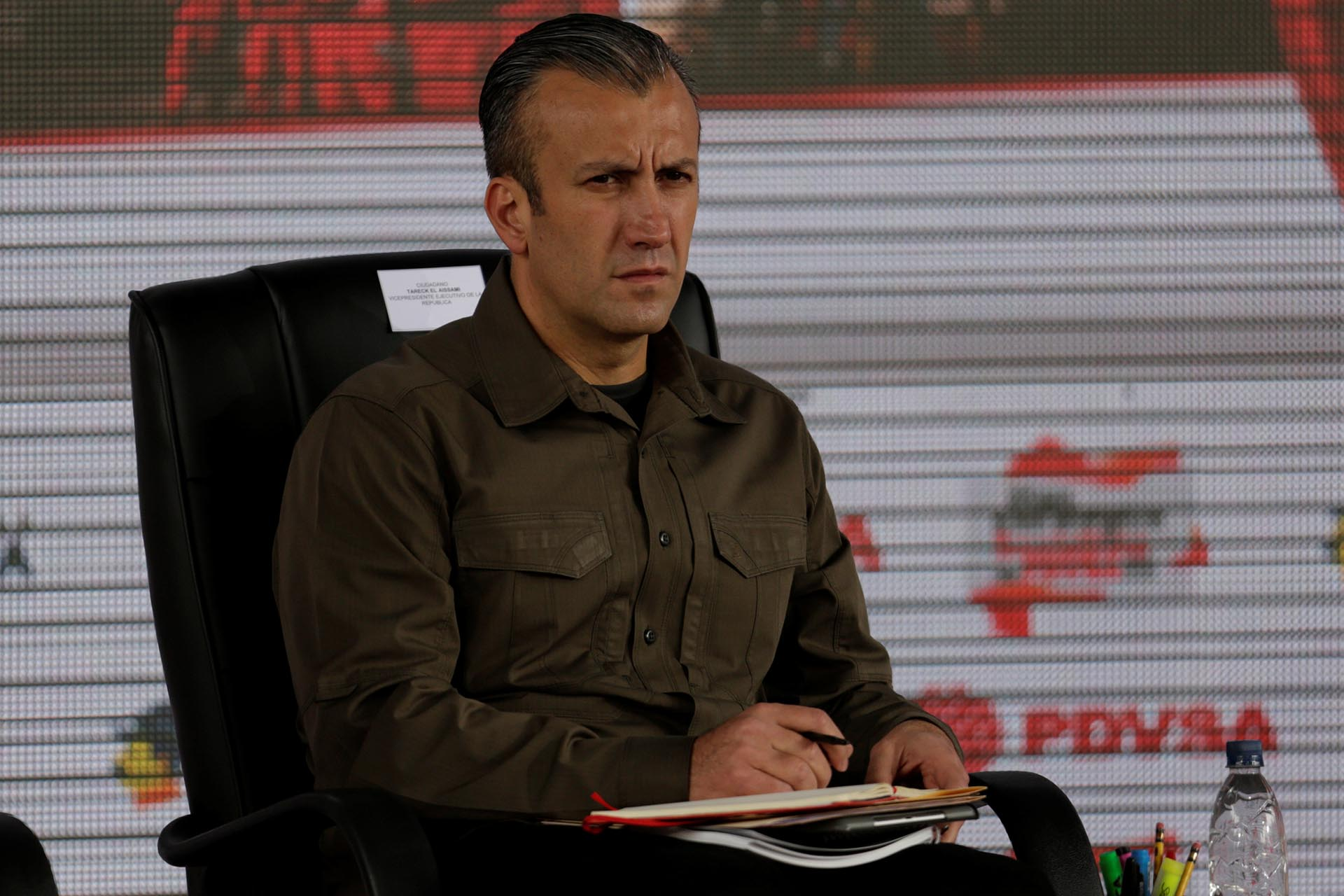 Tareck El Aissami, uno de los funcionarios sancionadospor los EEUU(Reuters)