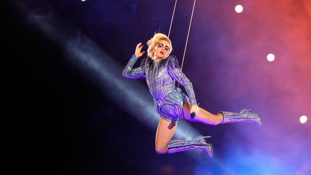 El espectáculo de Lady Gaga tuvo una audiencia promedio de 117,5 millones de espectadores(Getty Images)