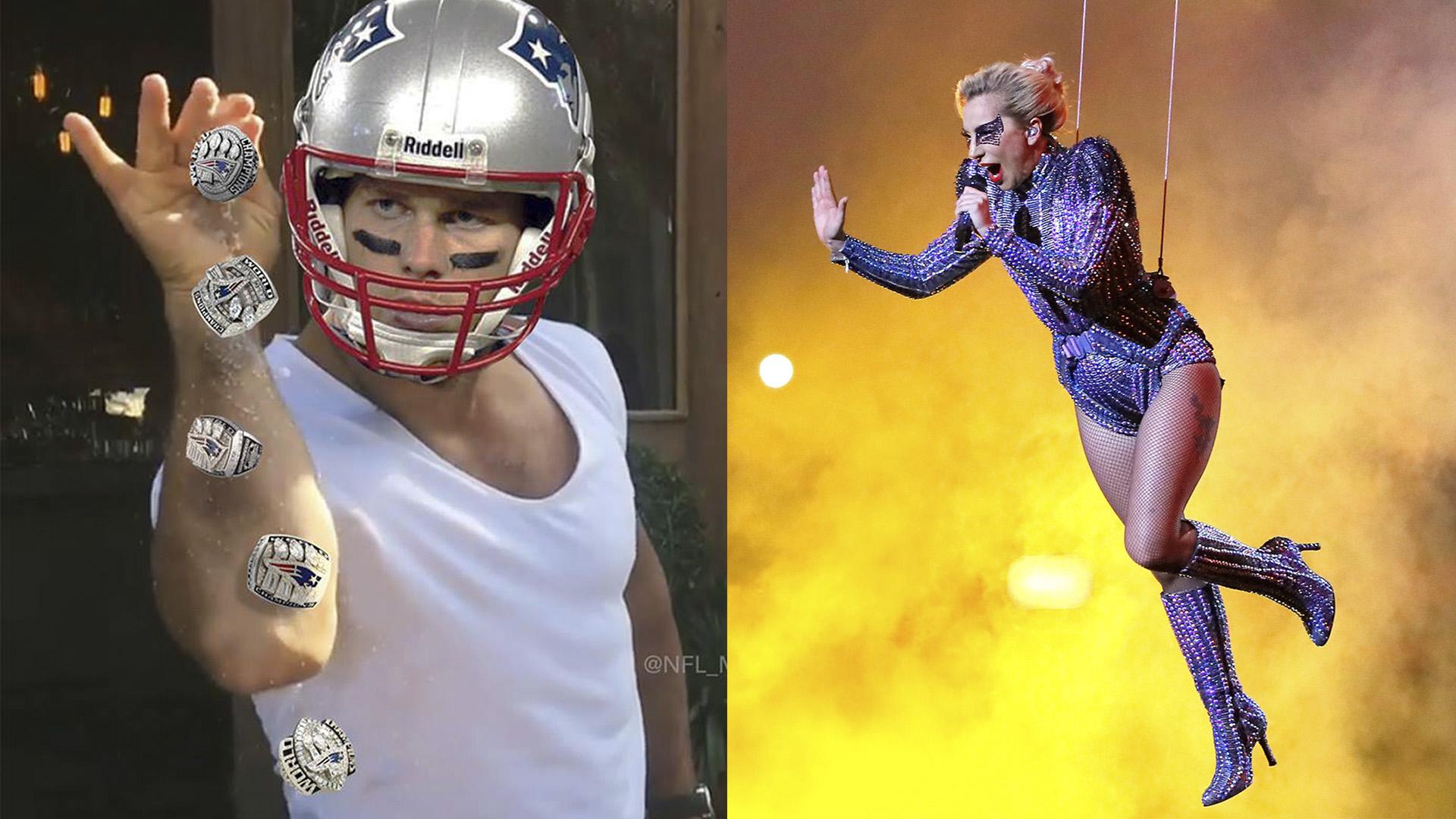 Partida memes Brady Gaga 2