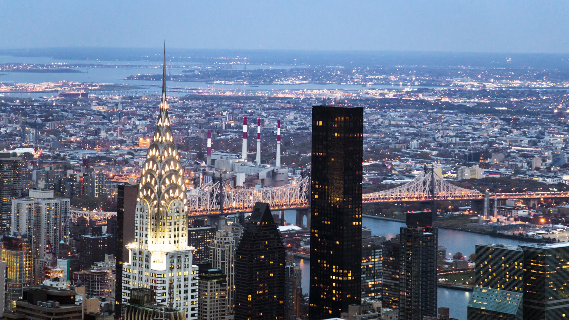 Una vista de Nueva York desde el Empire State