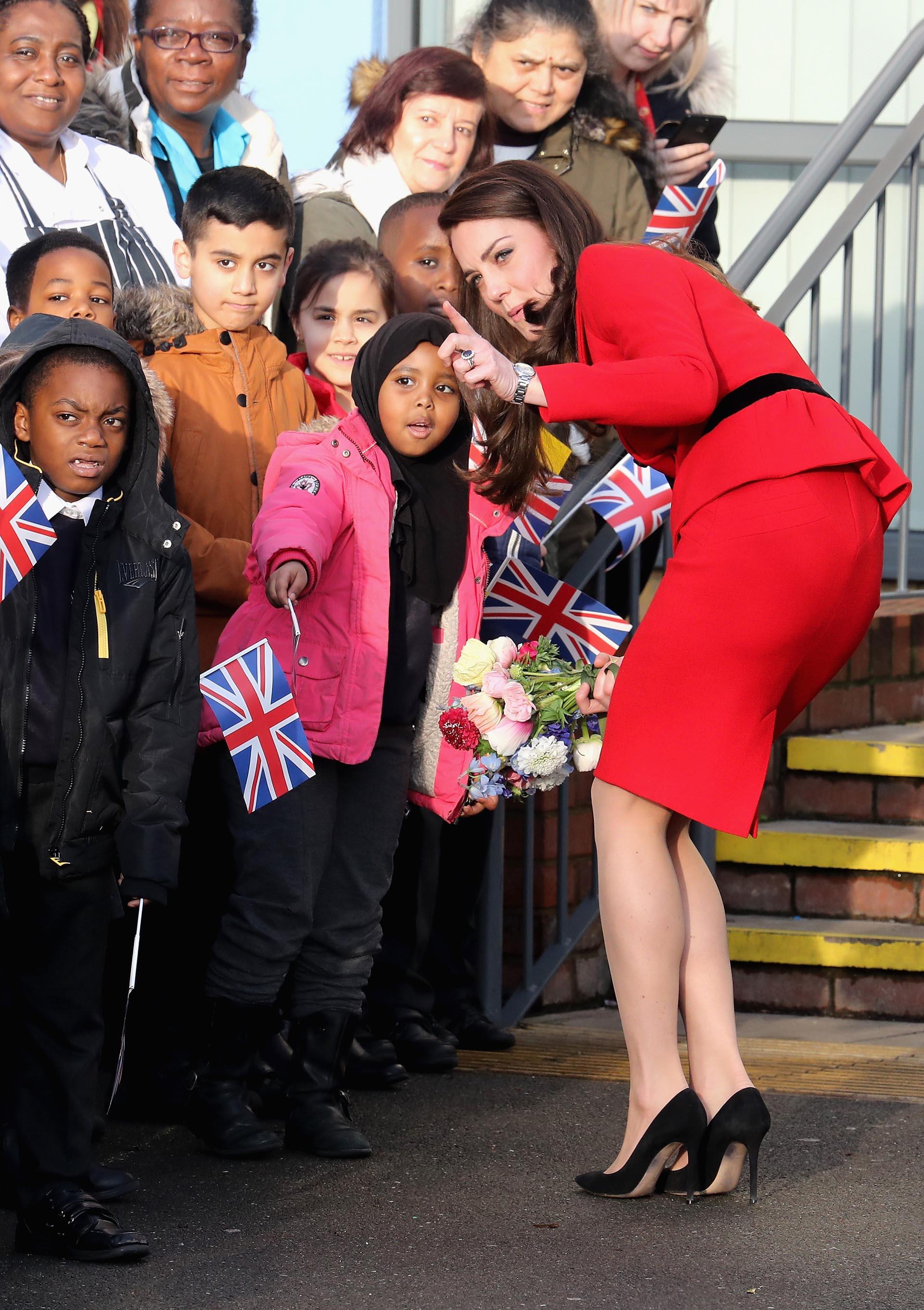 Stilettos, la clave infalible de la elegancia de la duquesa de Cambridge