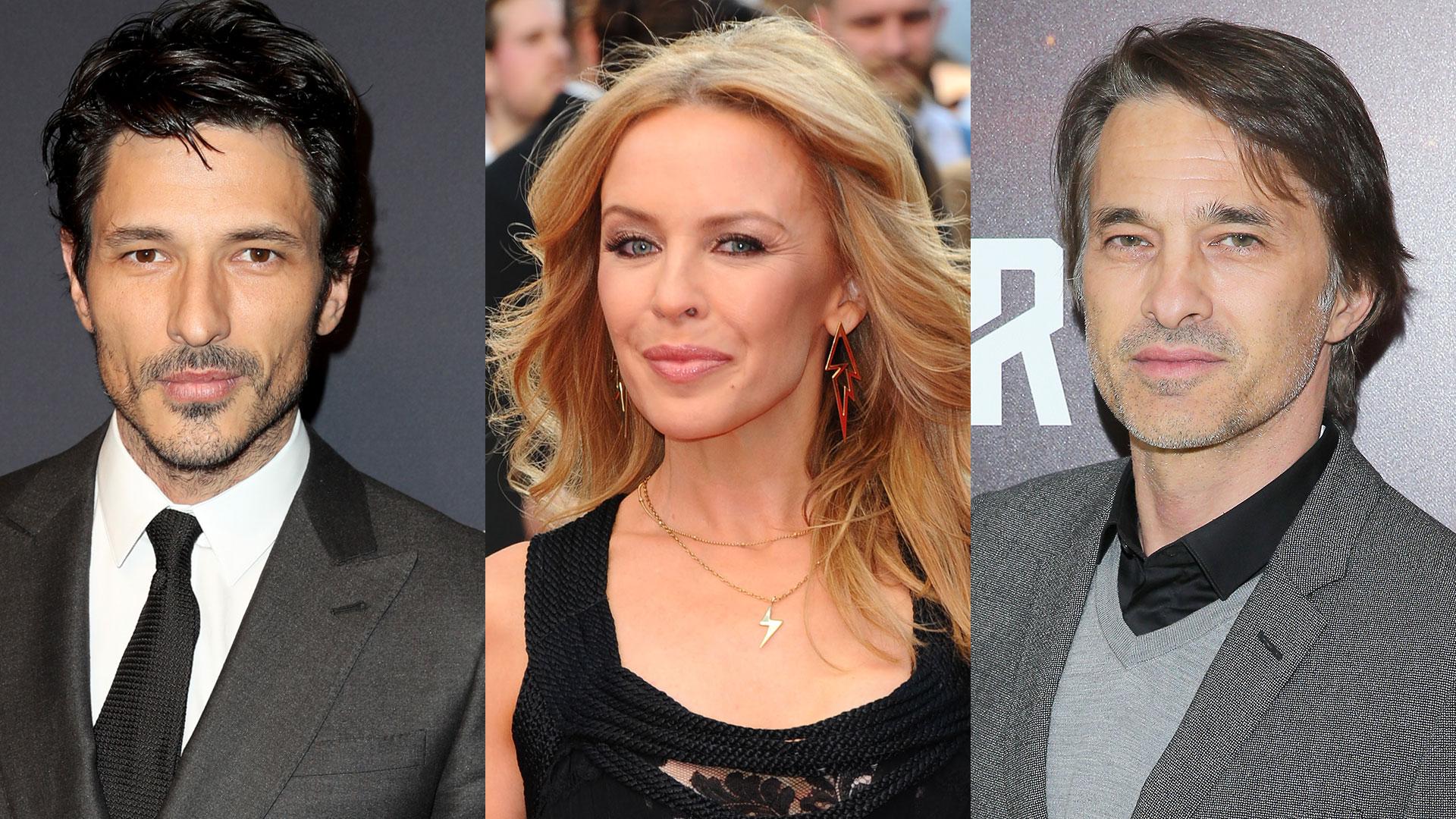Andrés Velencoso y Olivier Martínez, los otros ex amores de Kylie Minogue