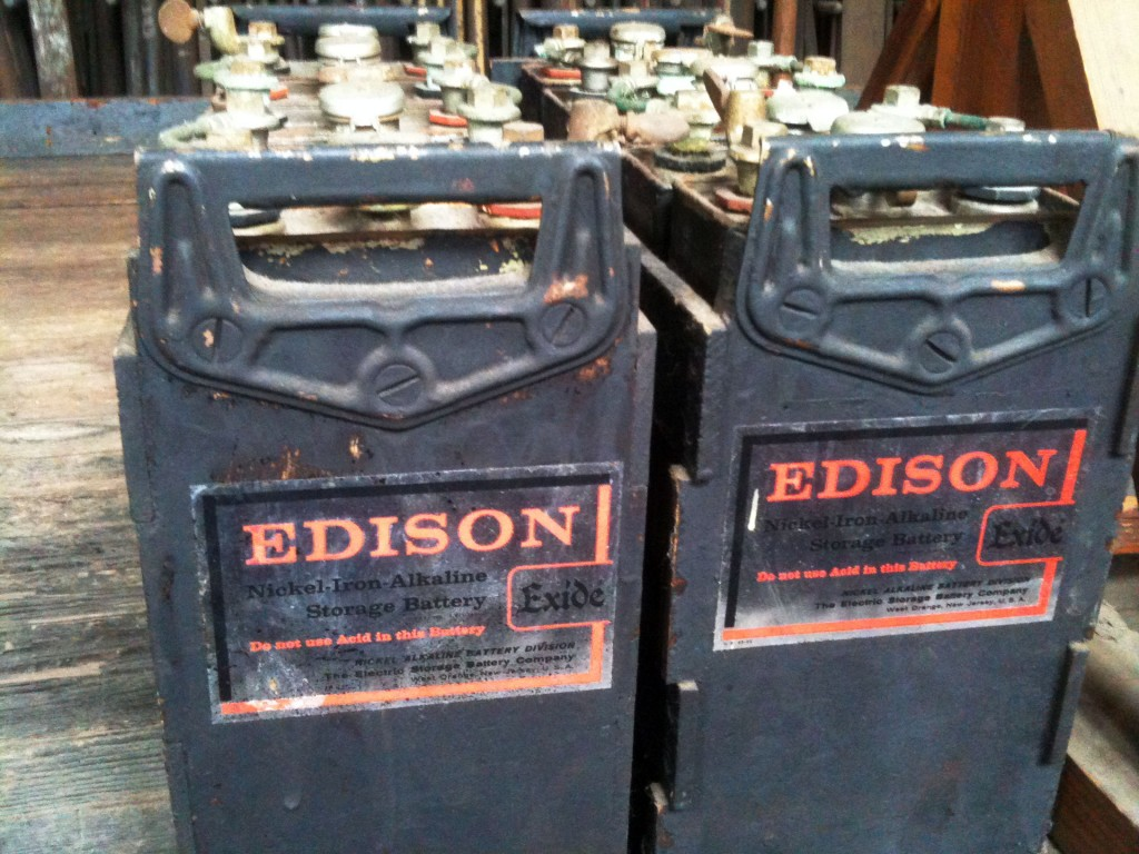 Baterías de níquel-hierro SF