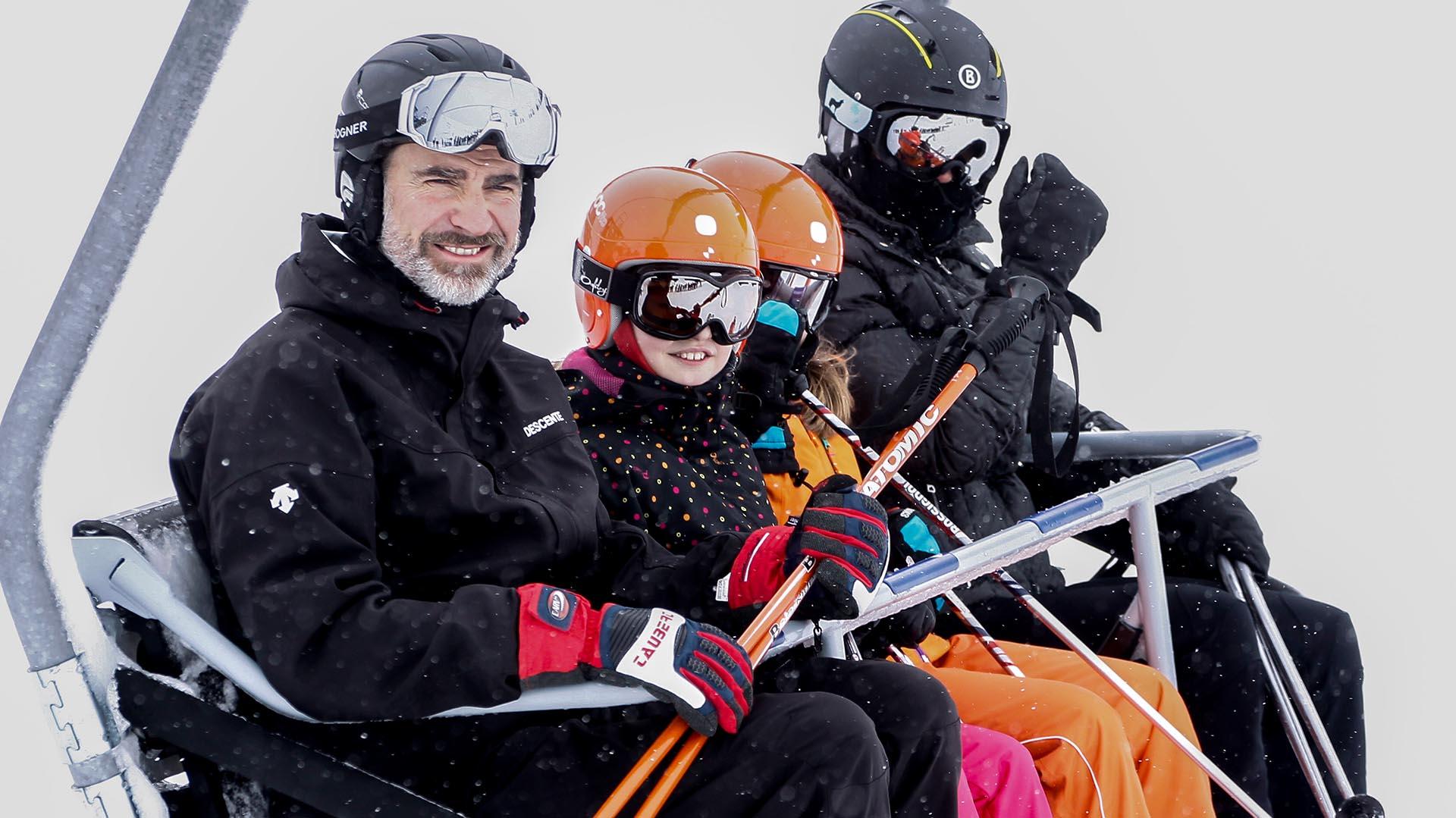 Vacaciones familiares en la montaña, en 2017.