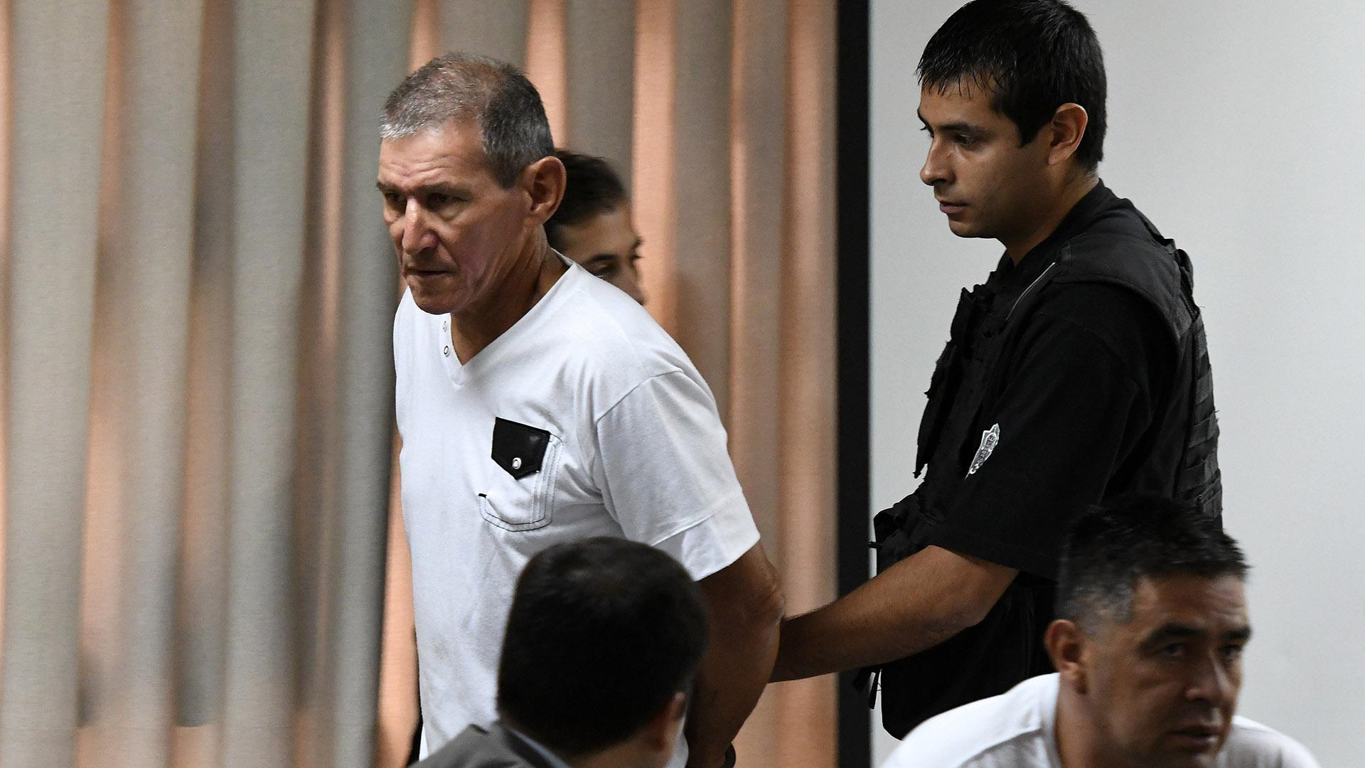 Hugo Bermúdez, acusado de matar a Candela (Télam)