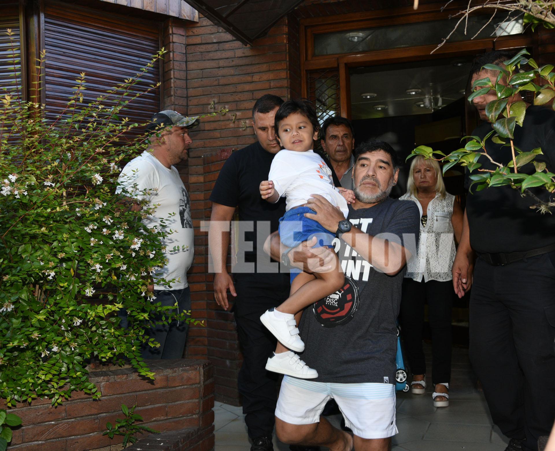 Dieguito Fernando cumplirá cuatro años el próximo 13 de febrero