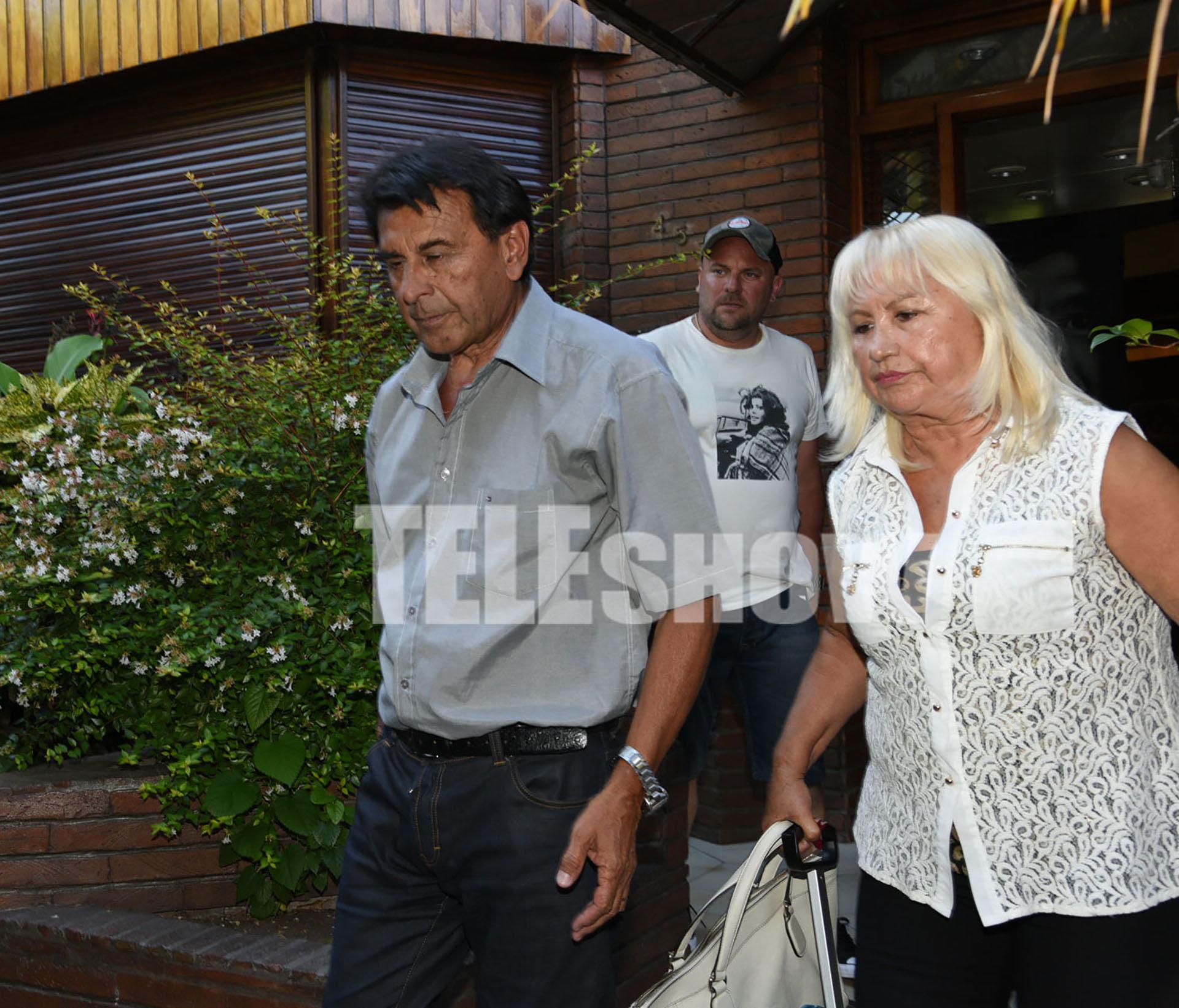 Los padres de Verónica Ojeda fueron los encargados de llevar a Dieguito Fernando a la casa de Diego Maradona