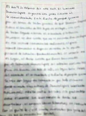 """La carta de los hijos del """"Chapo"""" Guzmán (@CiroGomezL)"""