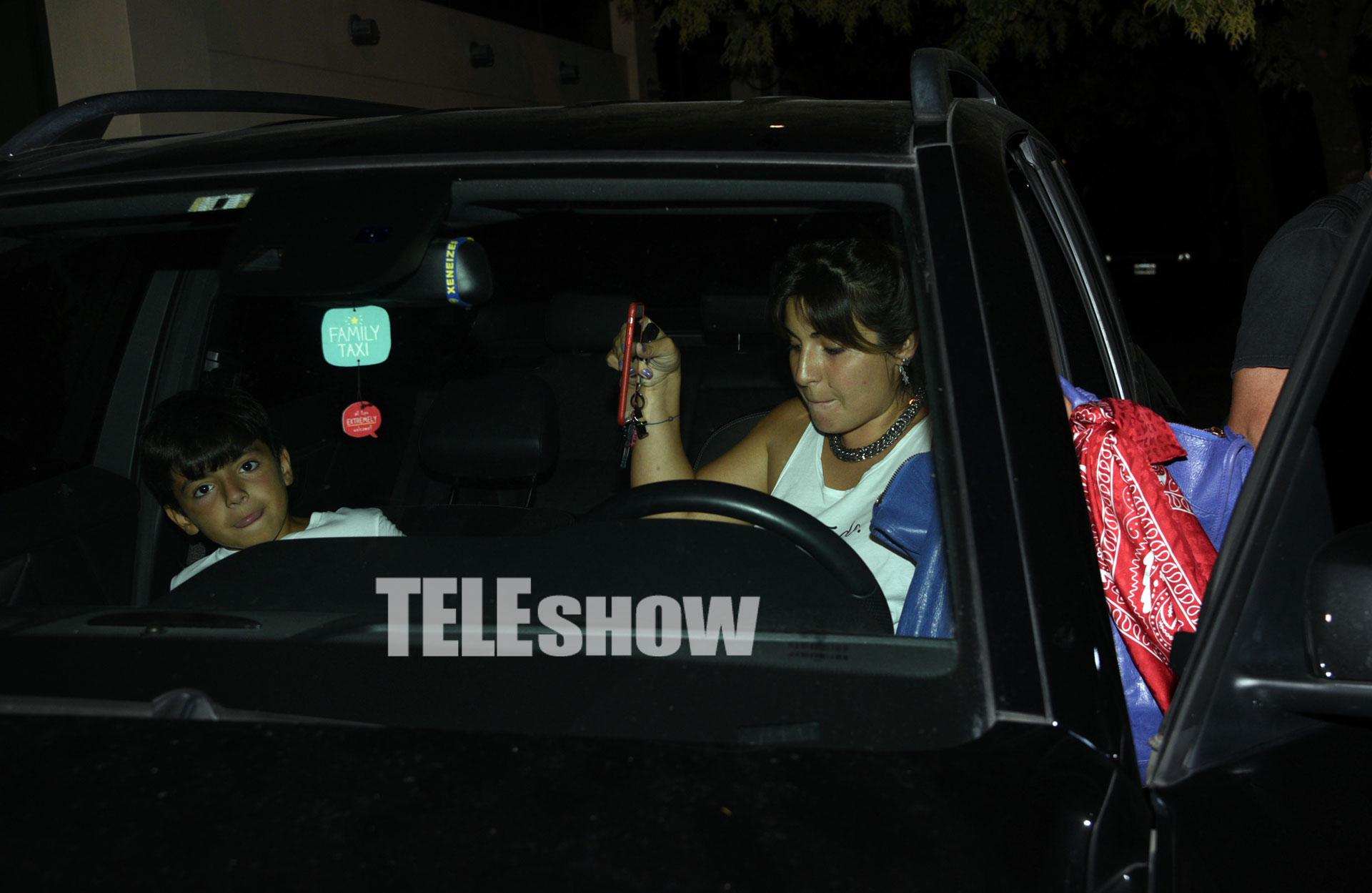 Gianinna Maradona y Benjamín