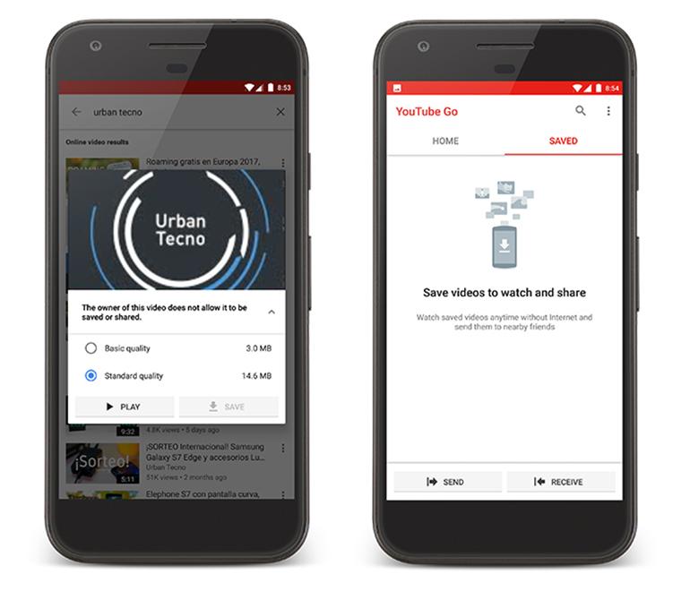 Incluye una opción dentro de la app para compartir videos, en pocos segundos, con otros usuarios