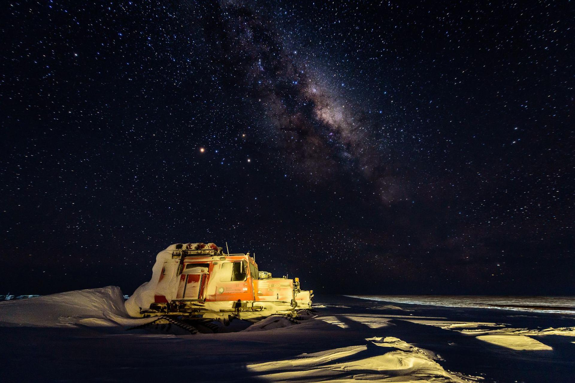 Un millón de estrellas. El cielo nocturno ofrece este tipo de imágenes