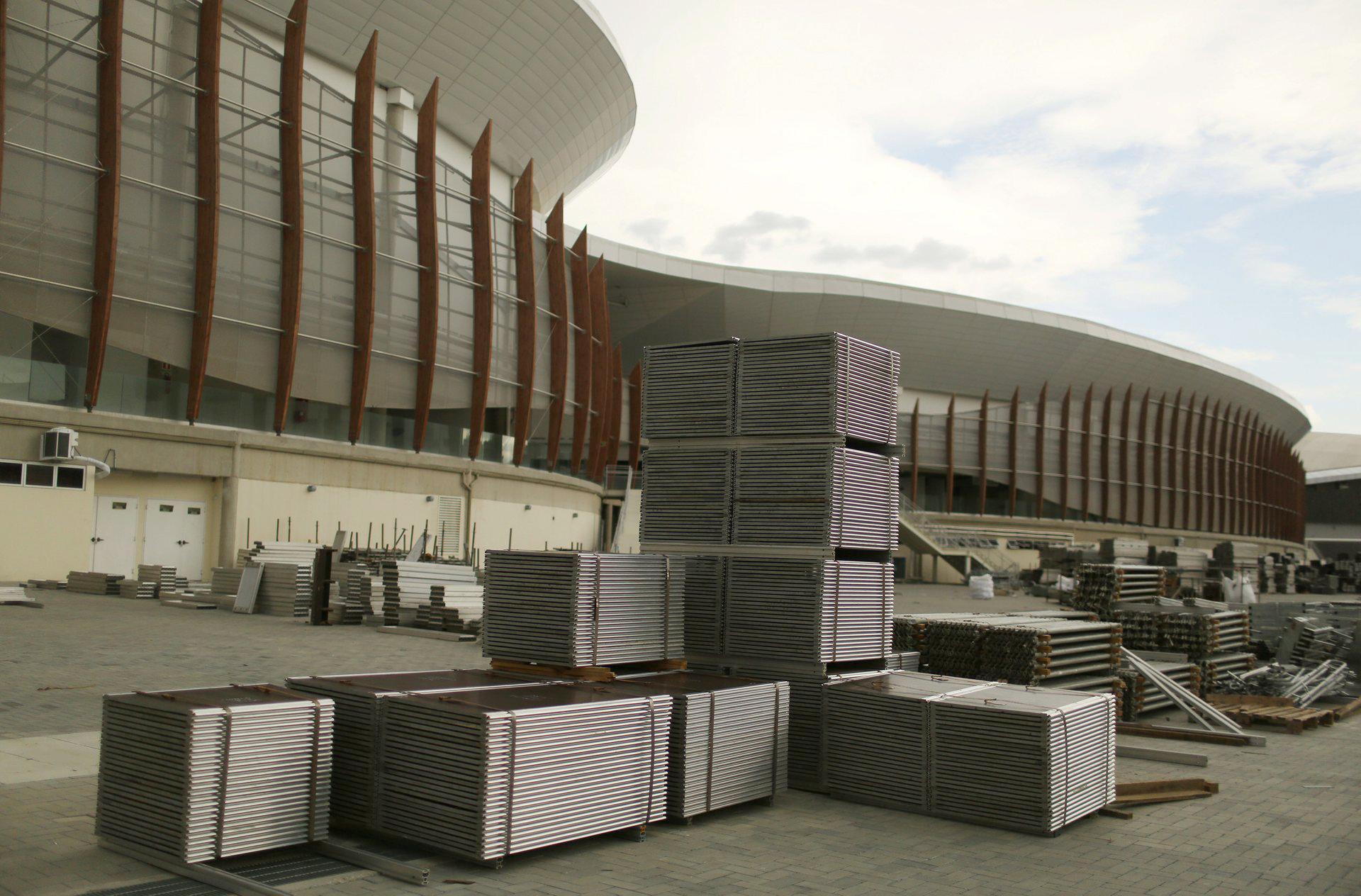 Las afueras del Arena Carioca (Reuters)