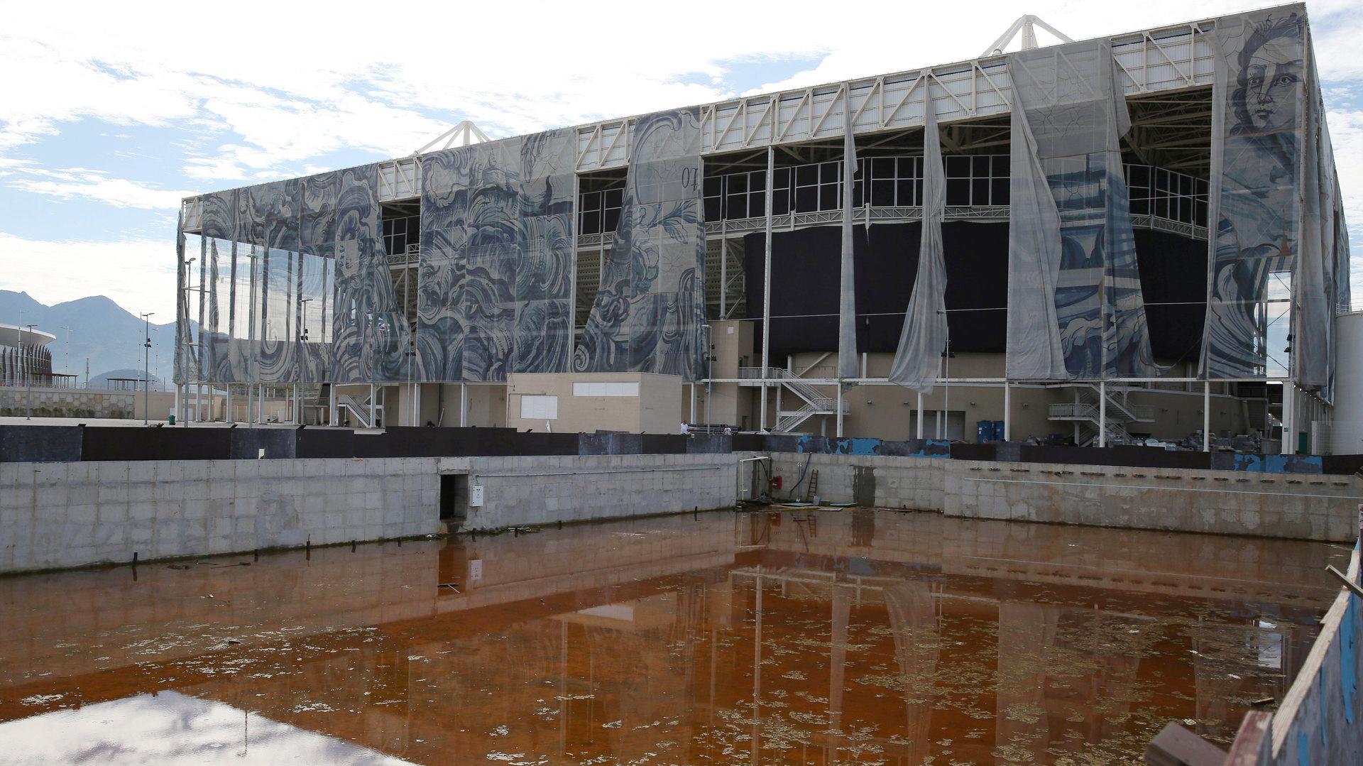 El Estadio Olímpico fue una de las últimas obras terminadas para los Juegos (Reuters)