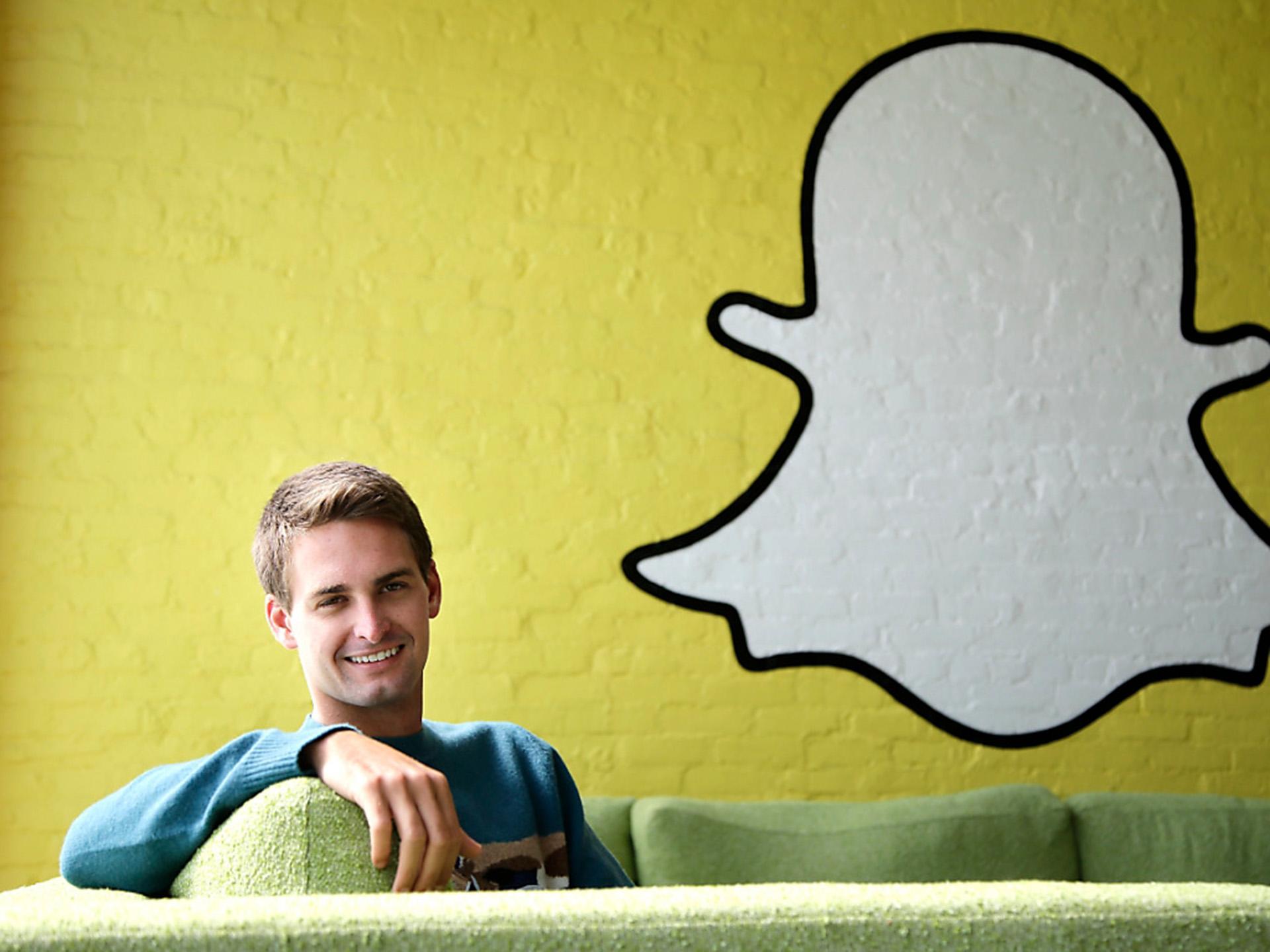 Evan Spiegel, cofundador de Snapchat