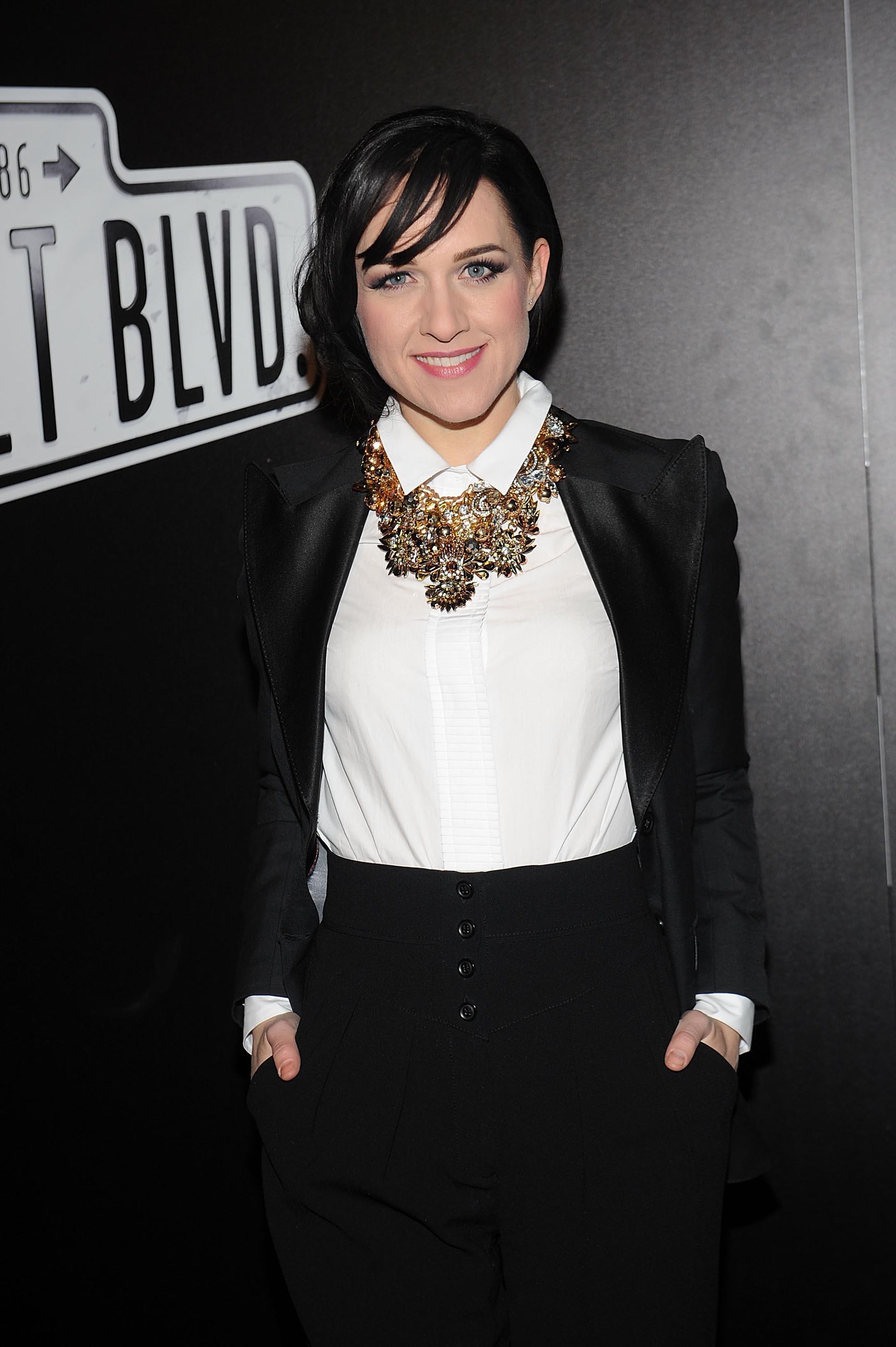 La actriz Lena Hall