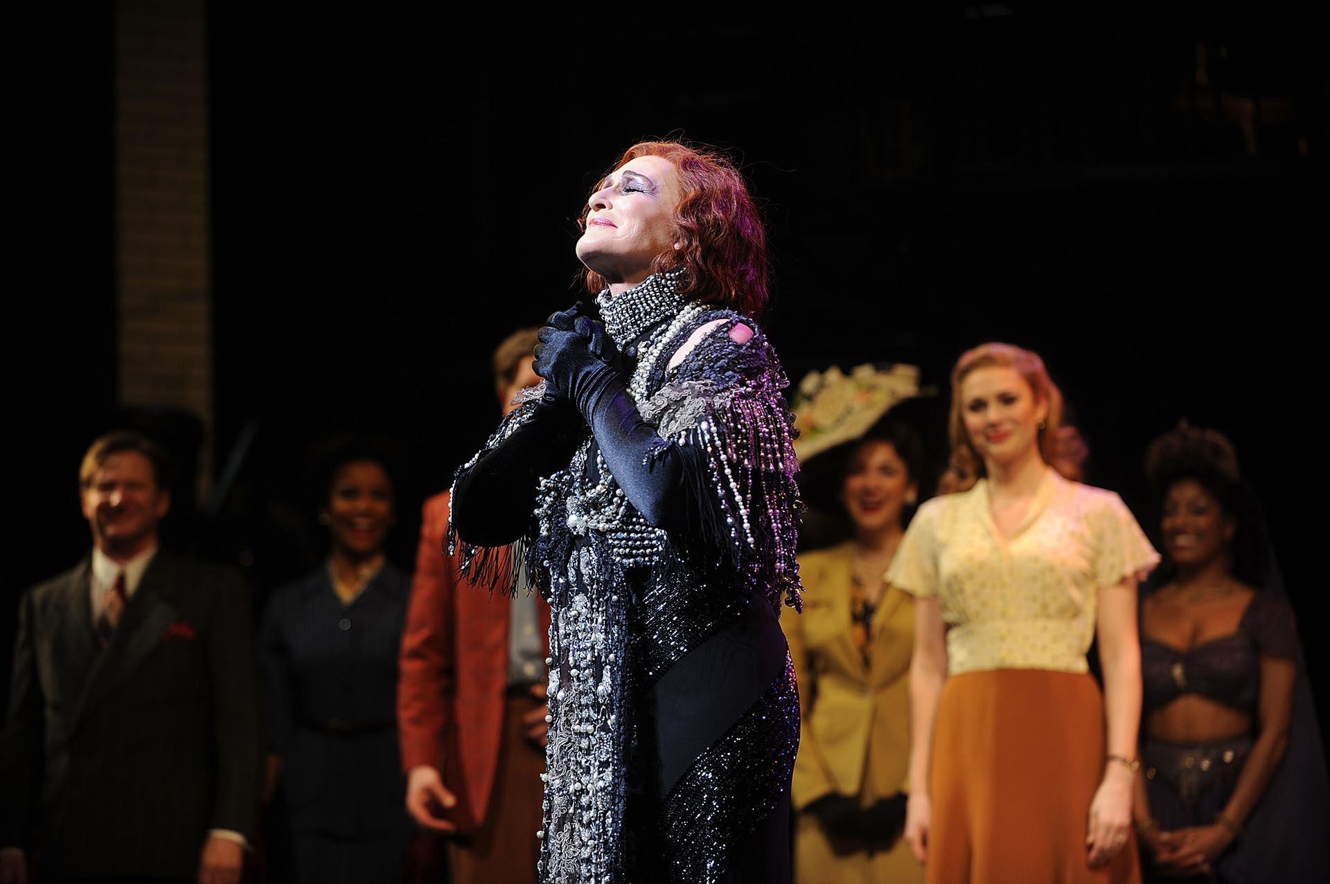 La profunda emoción de Glenn Close ante un público que la ovacionó de pie