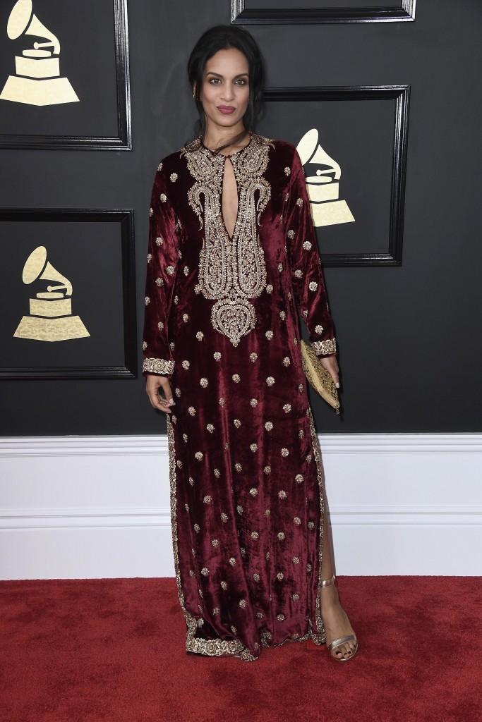 La hija del reconocido músico Ravi Shankar honró sus raíces hindúes. (Frazer Harrison/Getty Images)