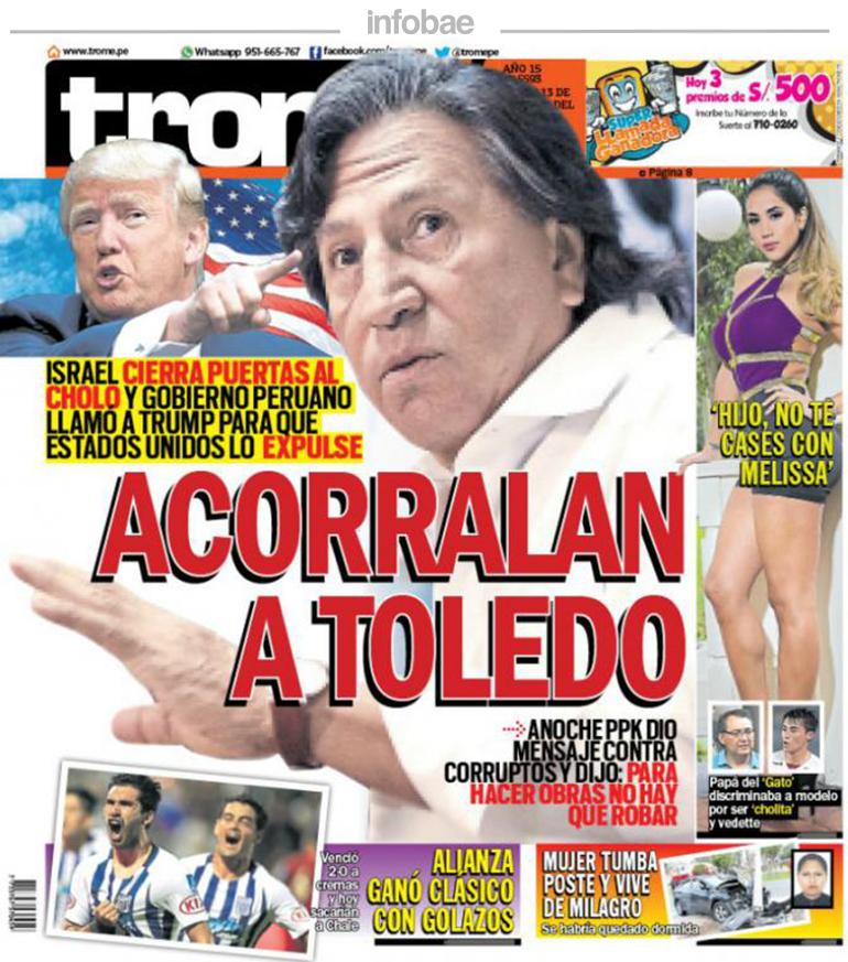 Trome Perú Lunes 13 De Febrero De 2017 Factor Noticia