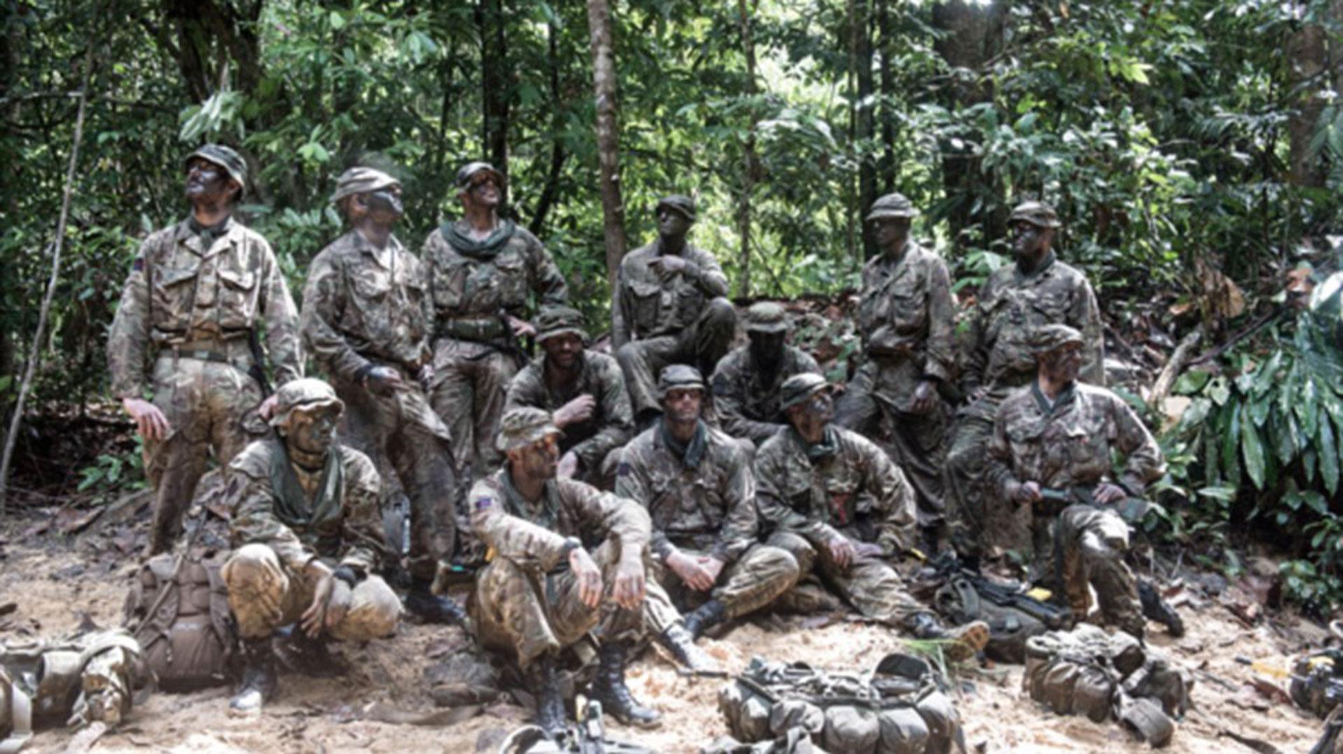 Los soldados de la Household Cavalry son especialistas en camuflaje
