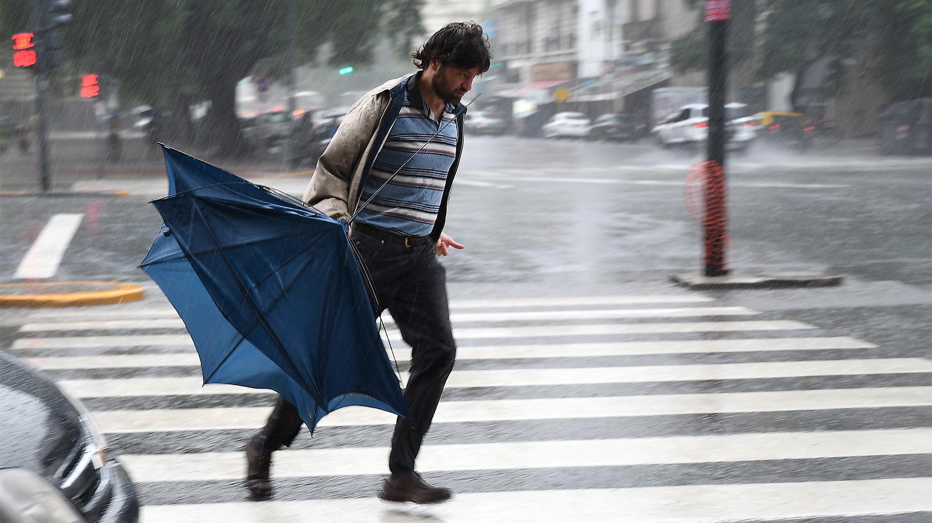 El alerta es para la Ciudad y parte de la provincia de Buenos Aires (Télam)