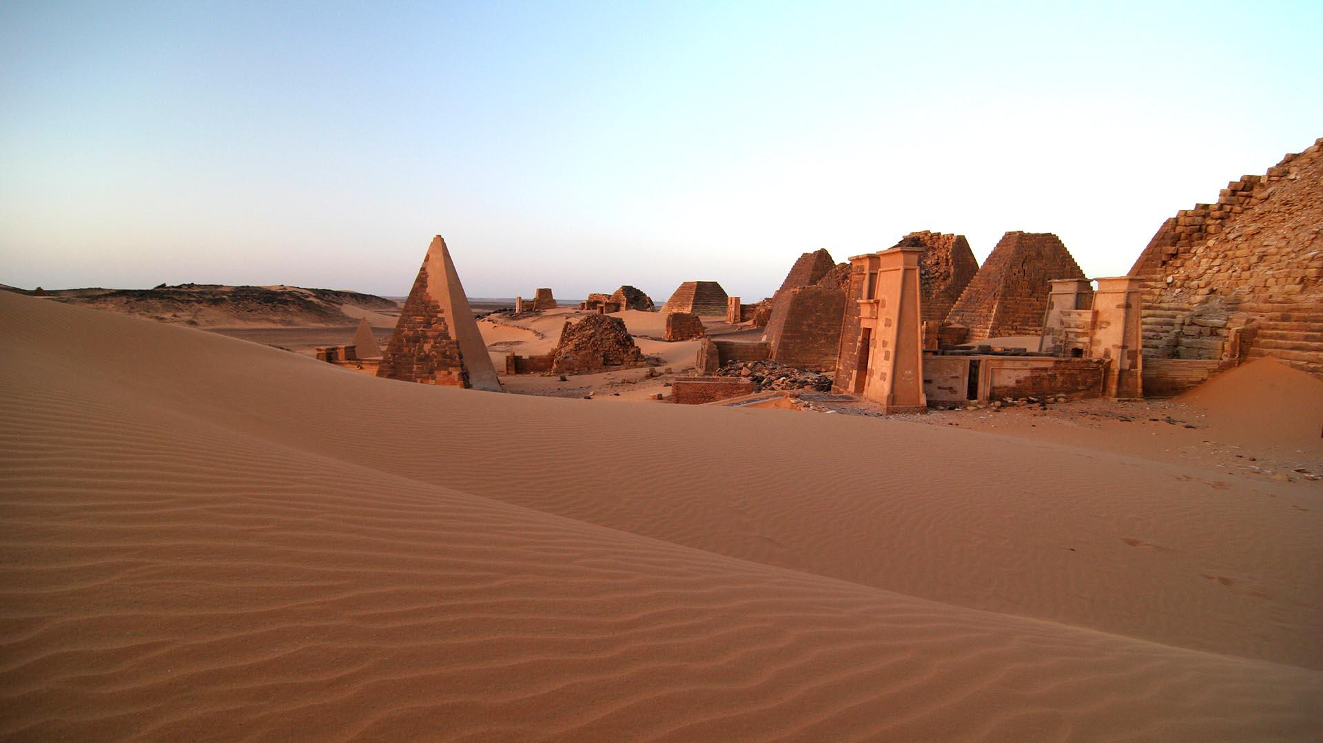 El país con el doble de pirámides de Egipto que nadie visita