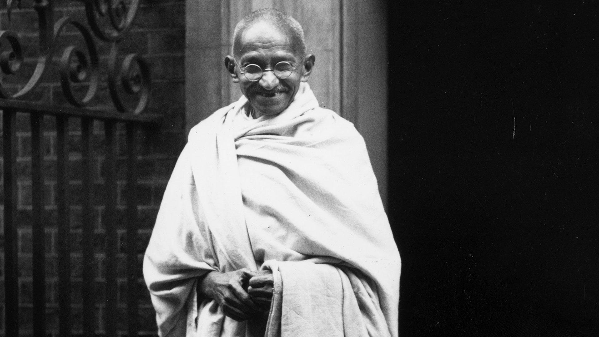 Mahatma Gandhi tenía 78 años al momento de su muerte (Getty Images)