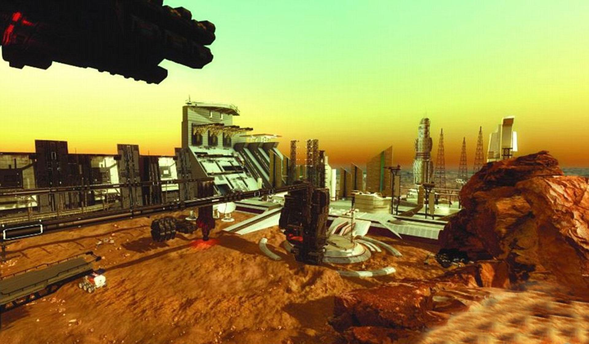 Así será la primer ciudad en Marte