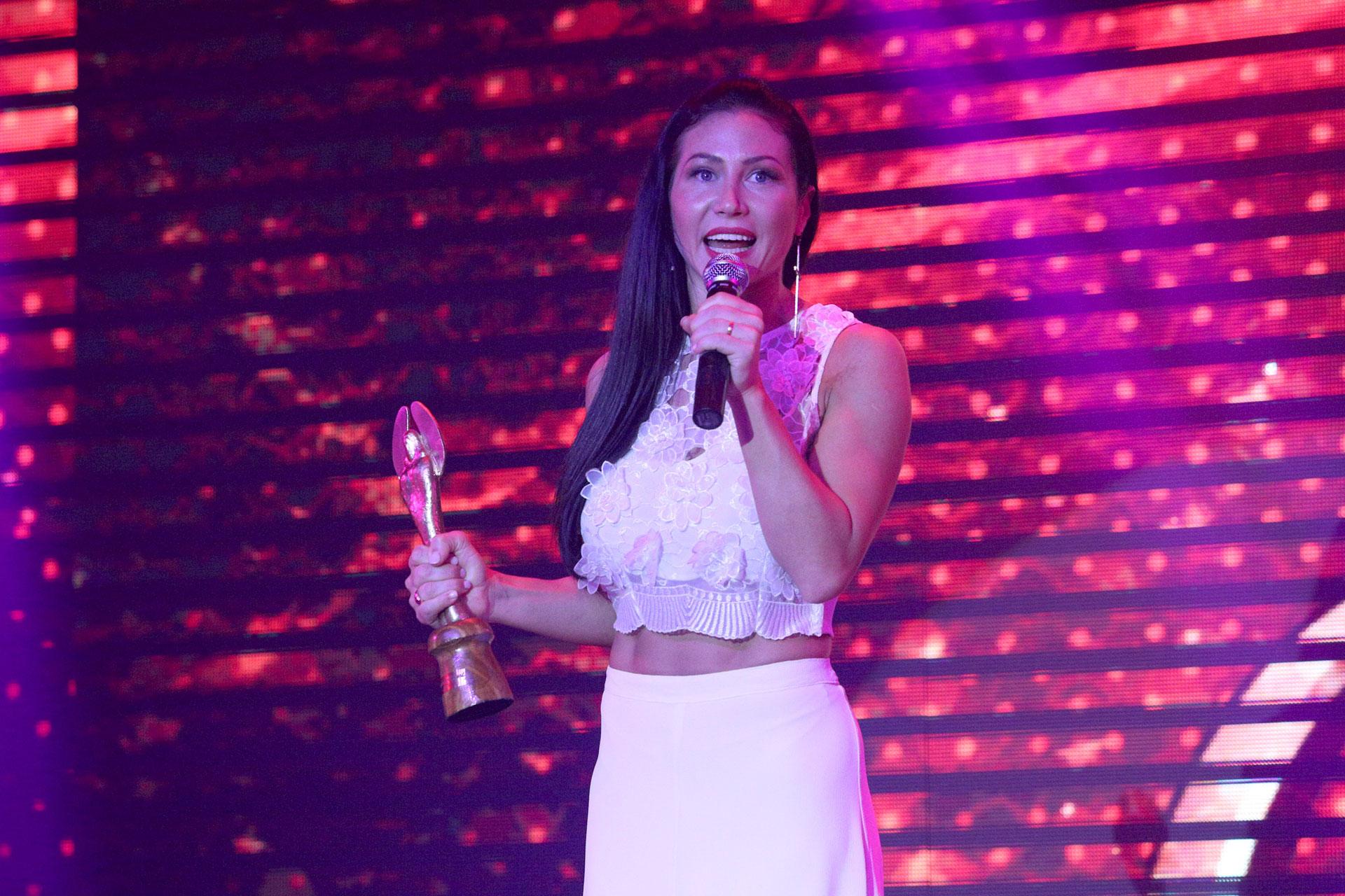 """Adabel Guerrero fue reconocida como Mejor Bailarina por el espectáculo """"Bien Argentino"""""""