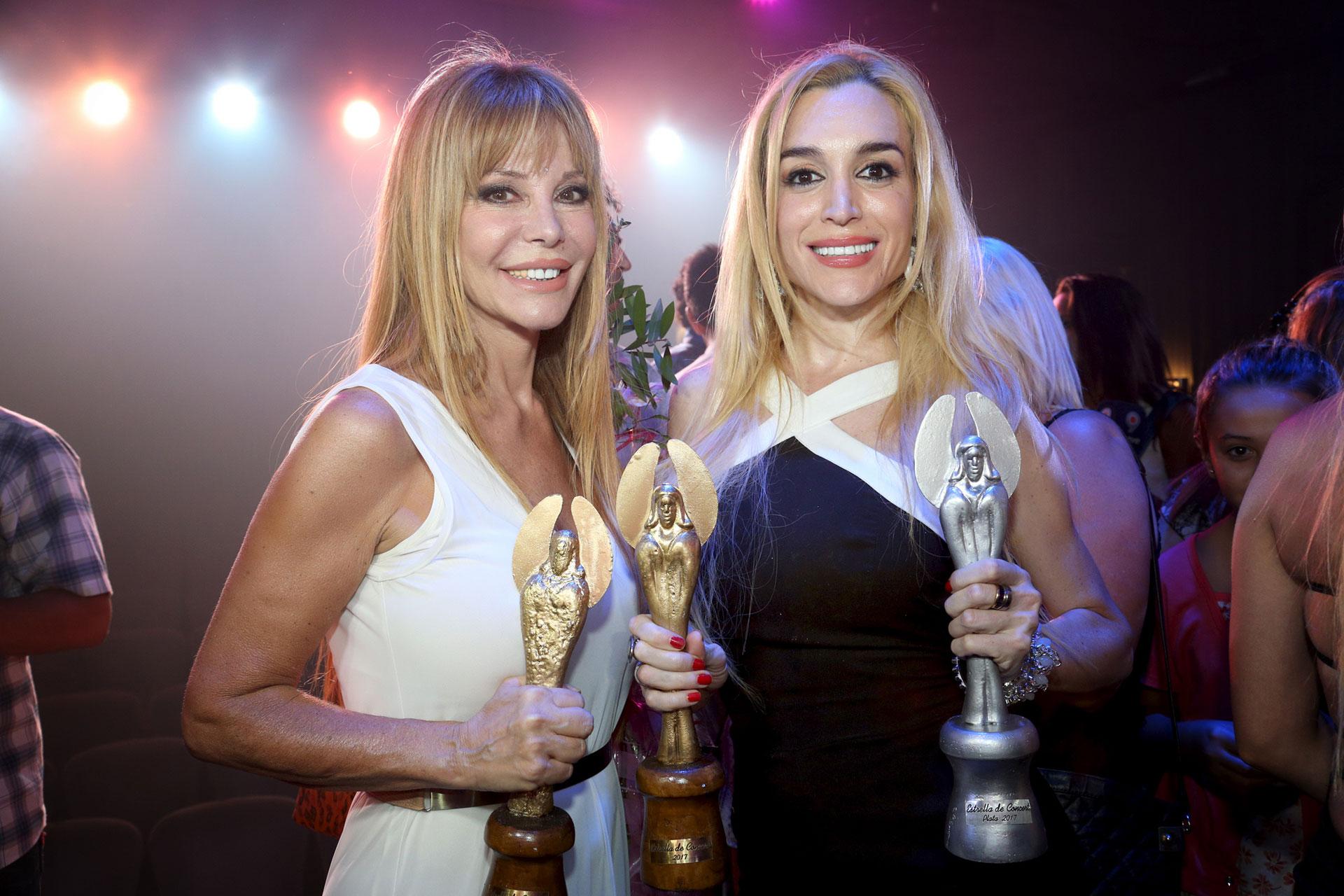 Fátima Florez y Graciela Alfano, felices por estos premios