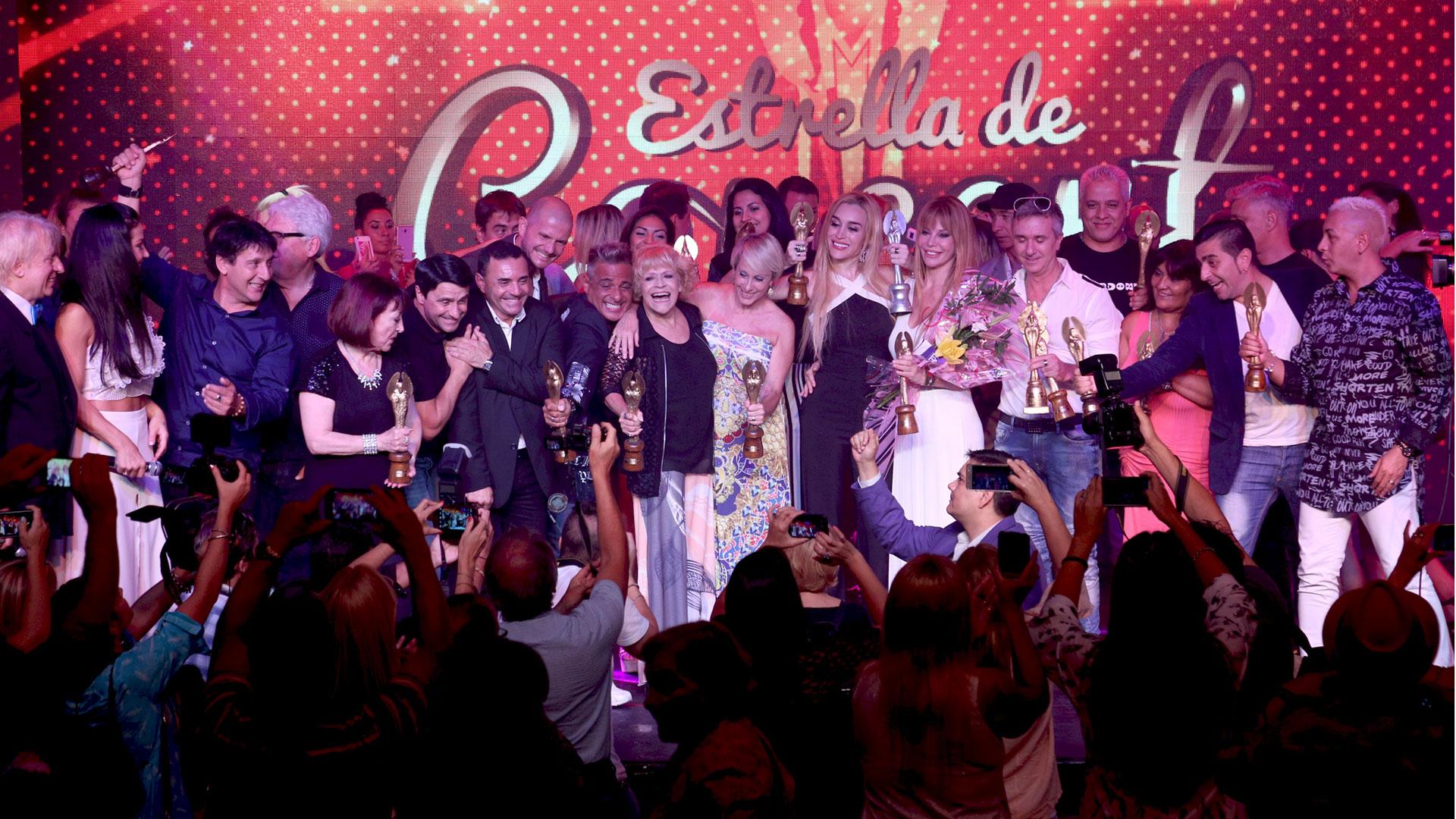 La ceremonia de la 33ª entrega de los premios se llevó a cabo en el teatro Coral