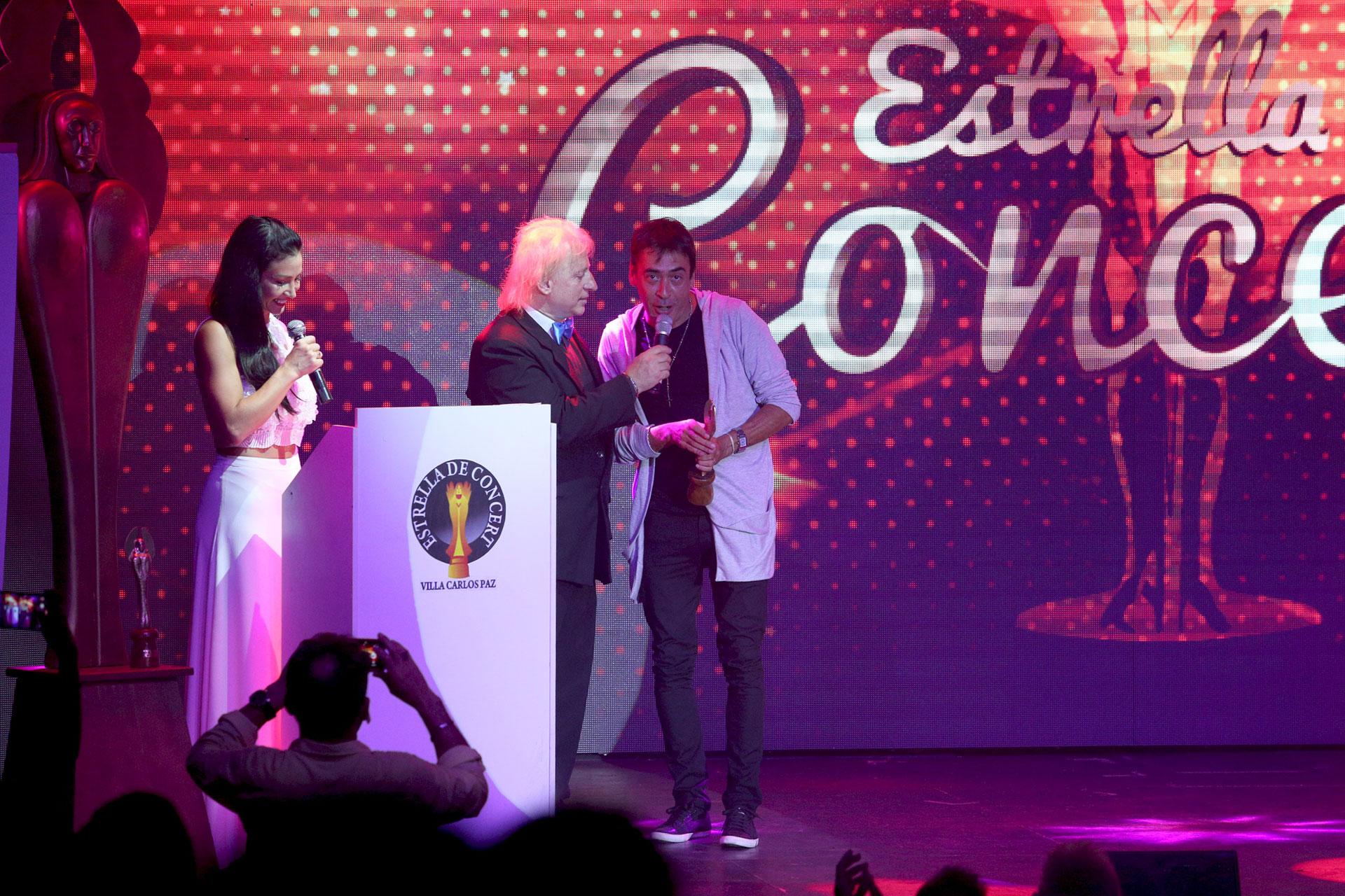 René Bertrand fue distinguido en la categoría Mejor Actor