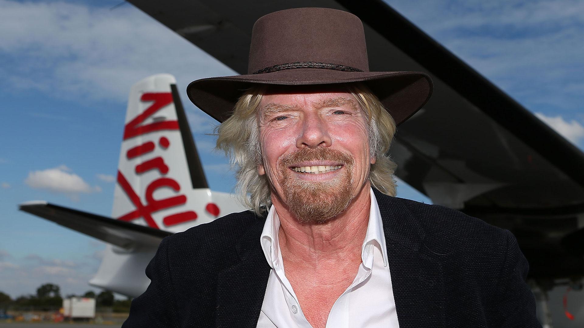 Con solo 20 años soñó en grande y creó su negocio Virgin Records (Foto: Getty)