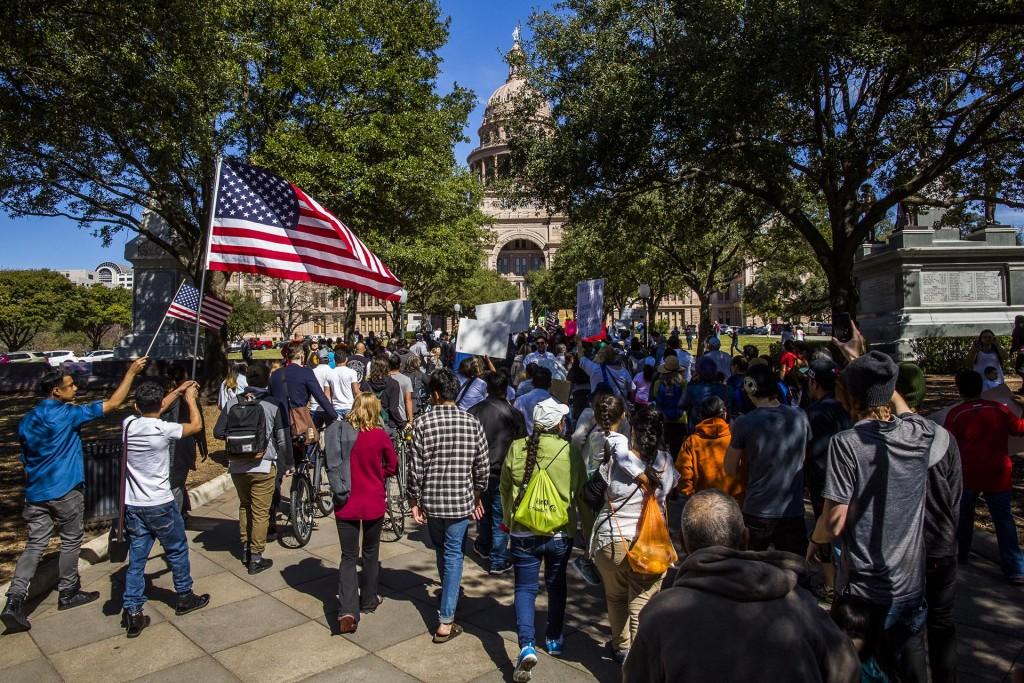 Manifestación en Austin, Texas
