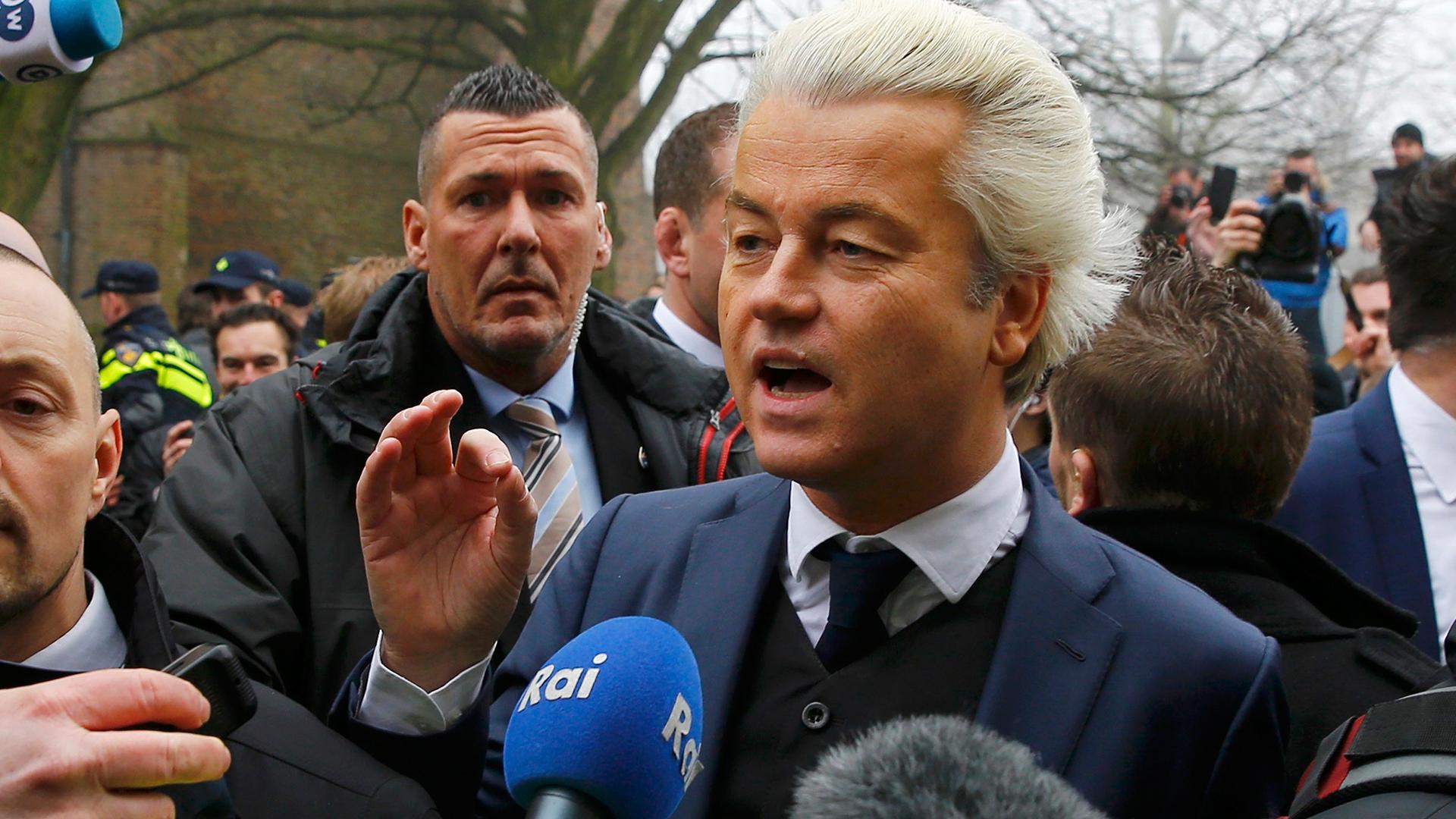 Geert Wilders, líder del antiinmigrante Partido por la Libertad de Holanda (Reuters)
