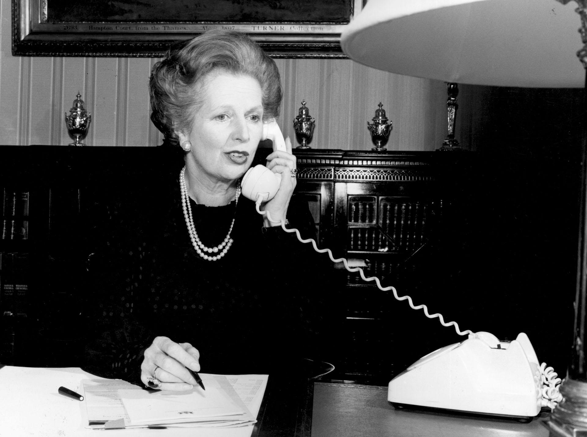 La conferencia de Margaret Thatcher en Westminster College es profética, opinó Kissinger, sobre los problemas políticos de hoy. (Foto deKeystone/Getty Images)